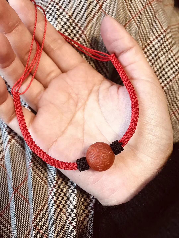 【菩心-转运手绳&南红玛瑙】这南红转运珠可有质感了。不收会后悔的。-菩心晶舍