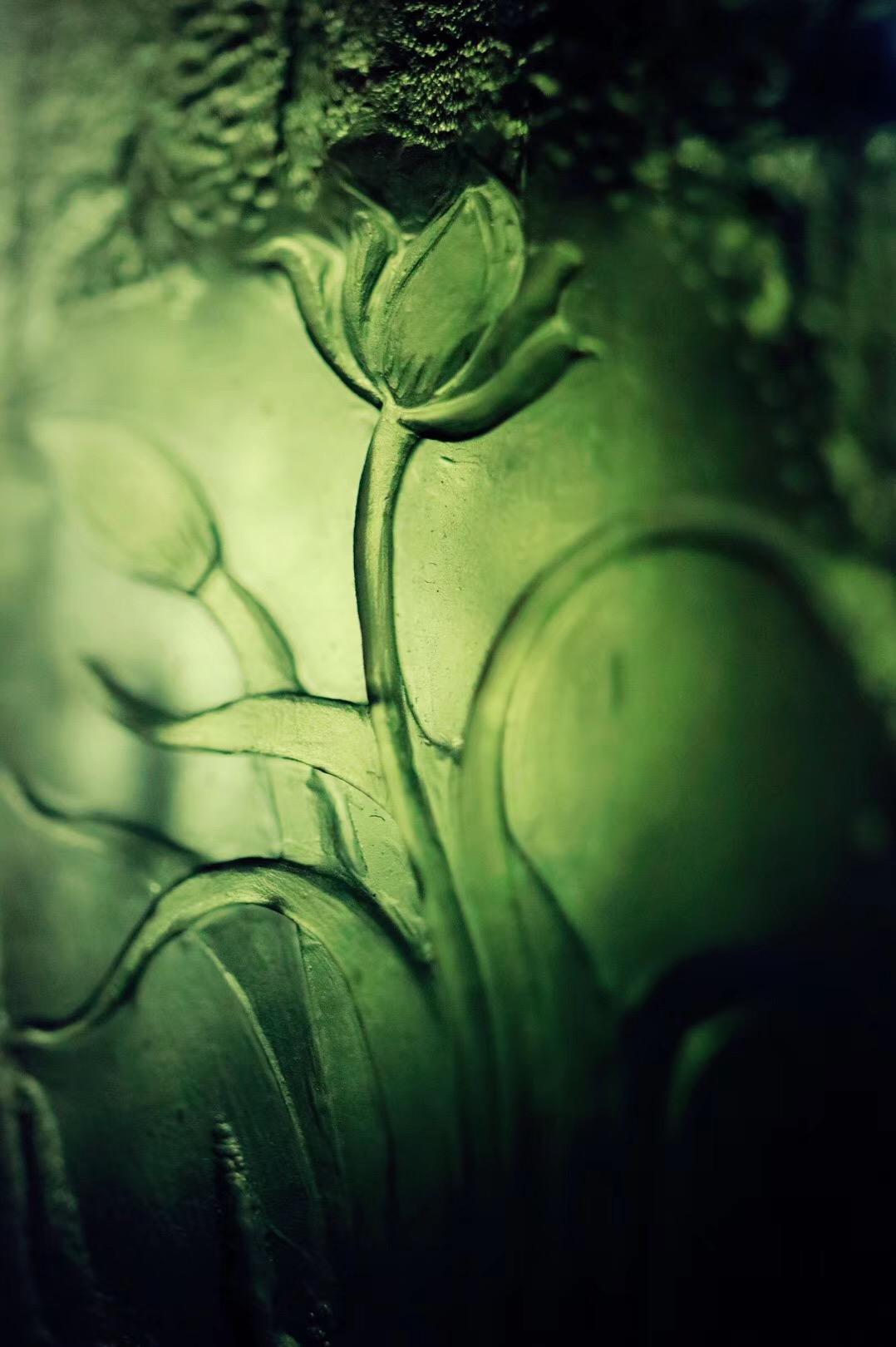【菩心捷克陨石 | 兰】恰如一朵幽兰的花开-菩心晶舍