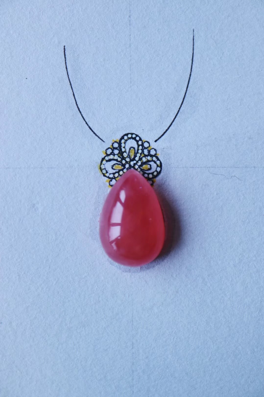 【菩心-阿根廷国石&红纹石】我爱你,不光因为你的样子-菩心晶舍