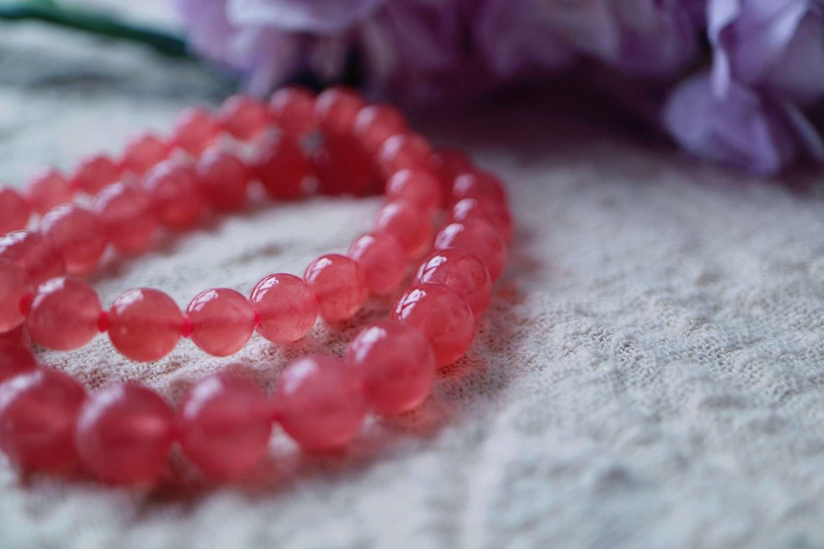 【菩心 | 红纹石】眼前的一片柔软让心也变得快乐而安静-菩心晶舍