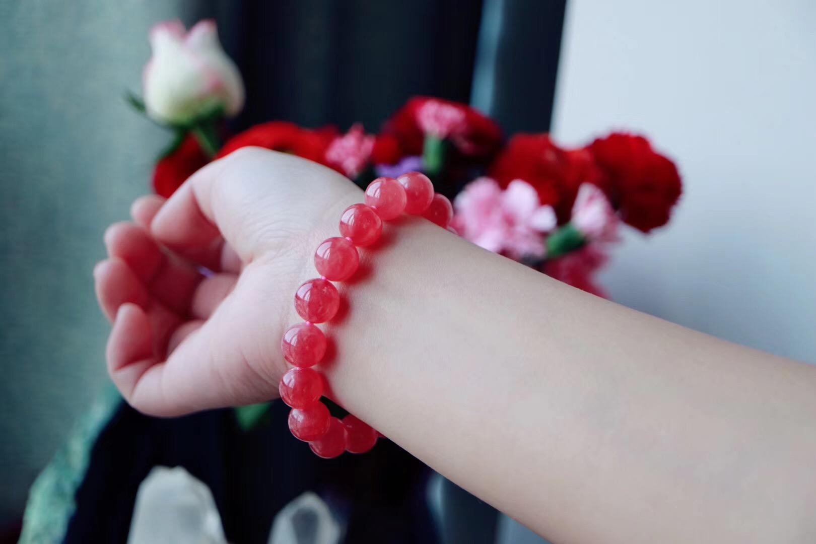 【菩心|红纹石】爱神的化身,带来幸福和喜悦-菩心晶舍