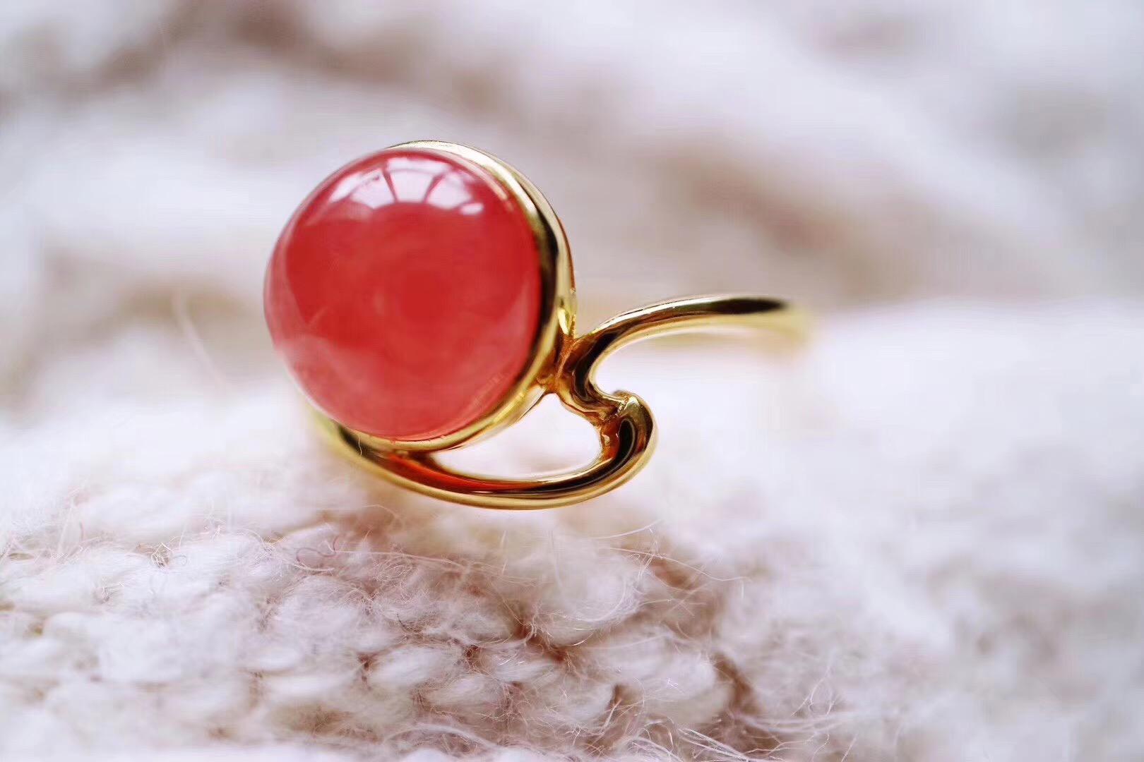 【菩心-红纹石】红纹石教会我们爱自己,而爱自己,将会余生浪漫的开始。-菩心晶舍