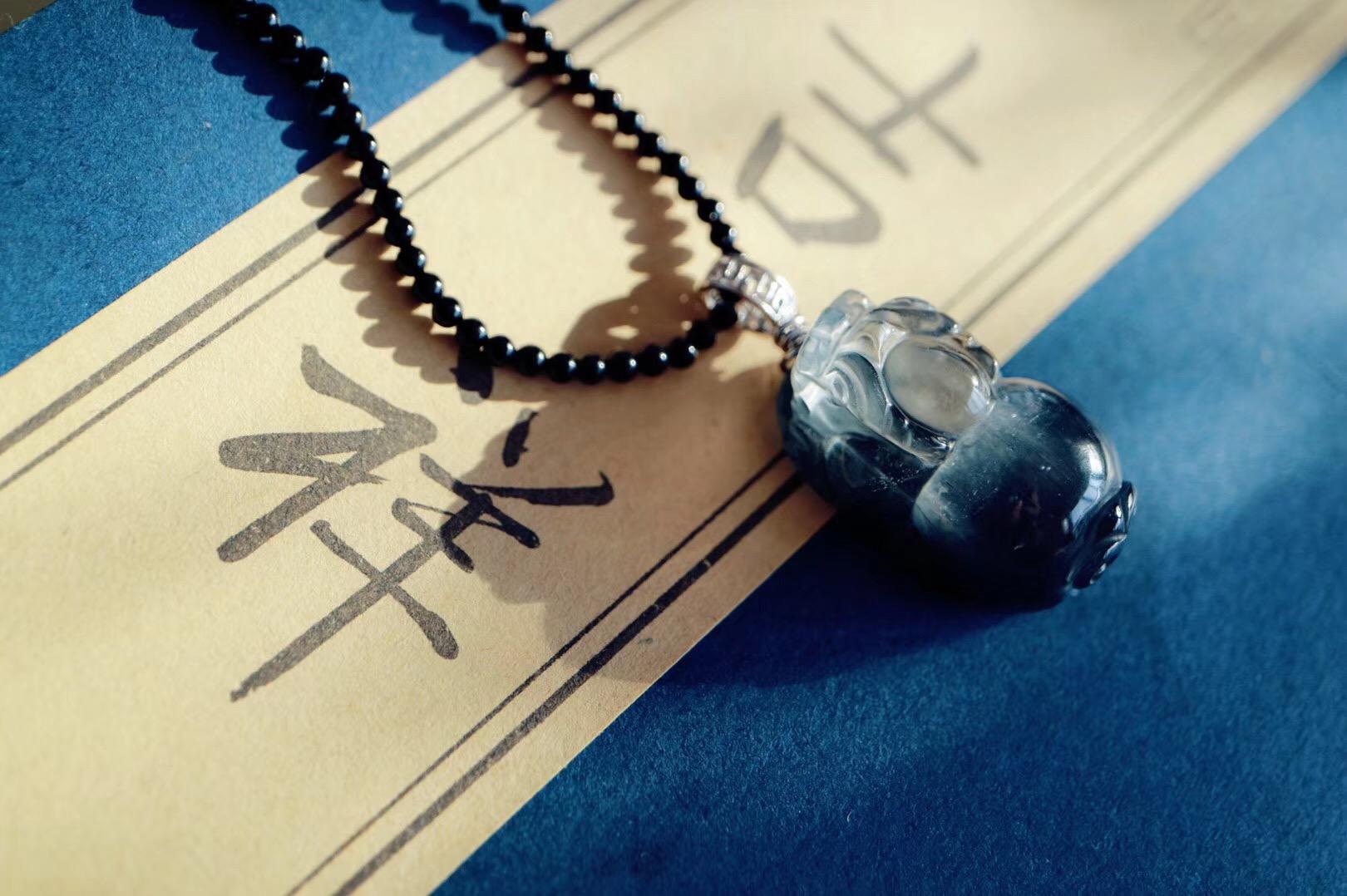 【银钛晶 | 貔貅】龙之九子,传说中的瑞兽,凶猛威武-菩心晶舍