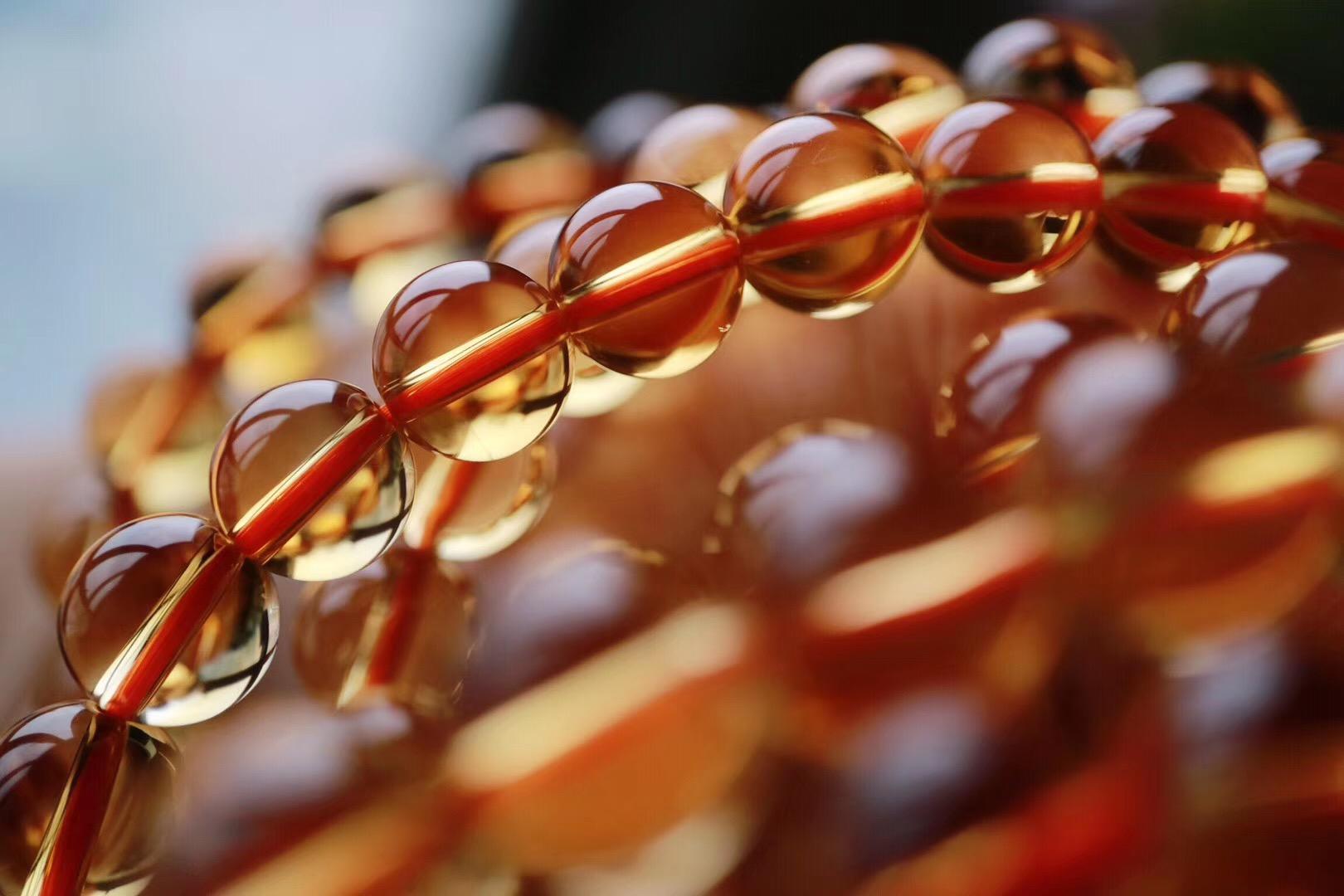 【菩心 | 收藏级黄水晶】颜色、晶体到顶,一条就可以顺利毕业-菩心晶舍