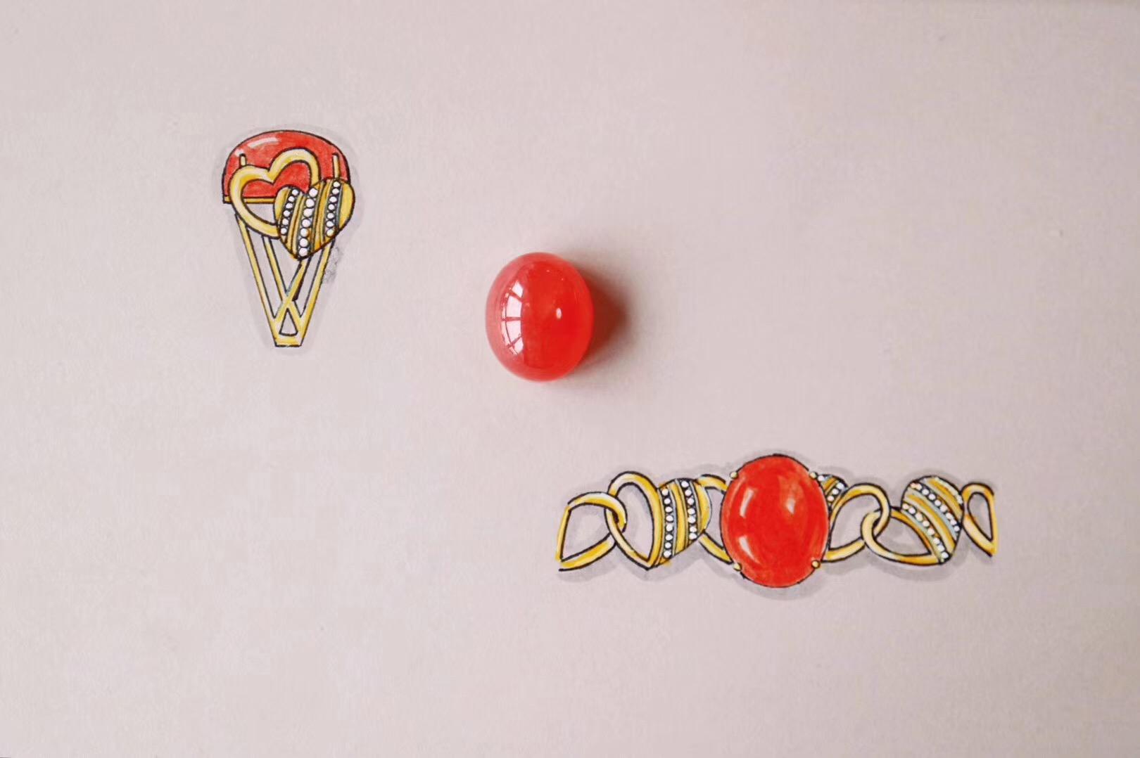 【菩心-红纹石&爱心戒】最好的恋爱关系,就是一起去完成某项事情-菩心晶舍