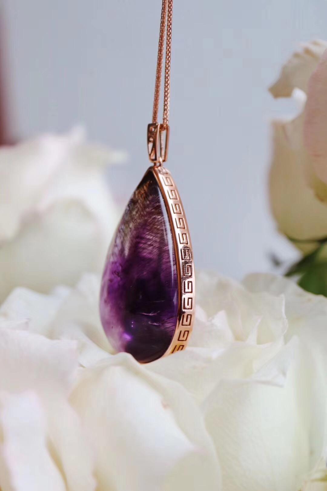 【菩心-紫发晶&超七】一颗紫发晶,足够浪上一生-菩心晶舍