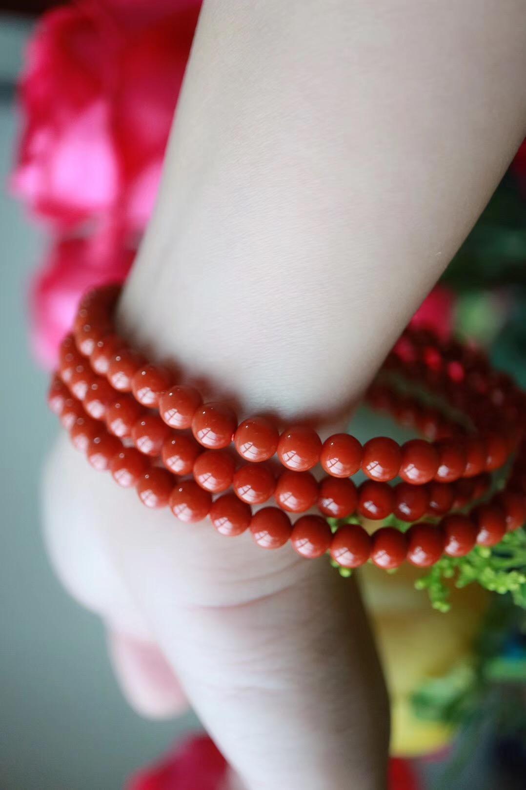 【南红玛瑙】南红是唯一具有温润玉质的红色宝玉石-菩心晶舍