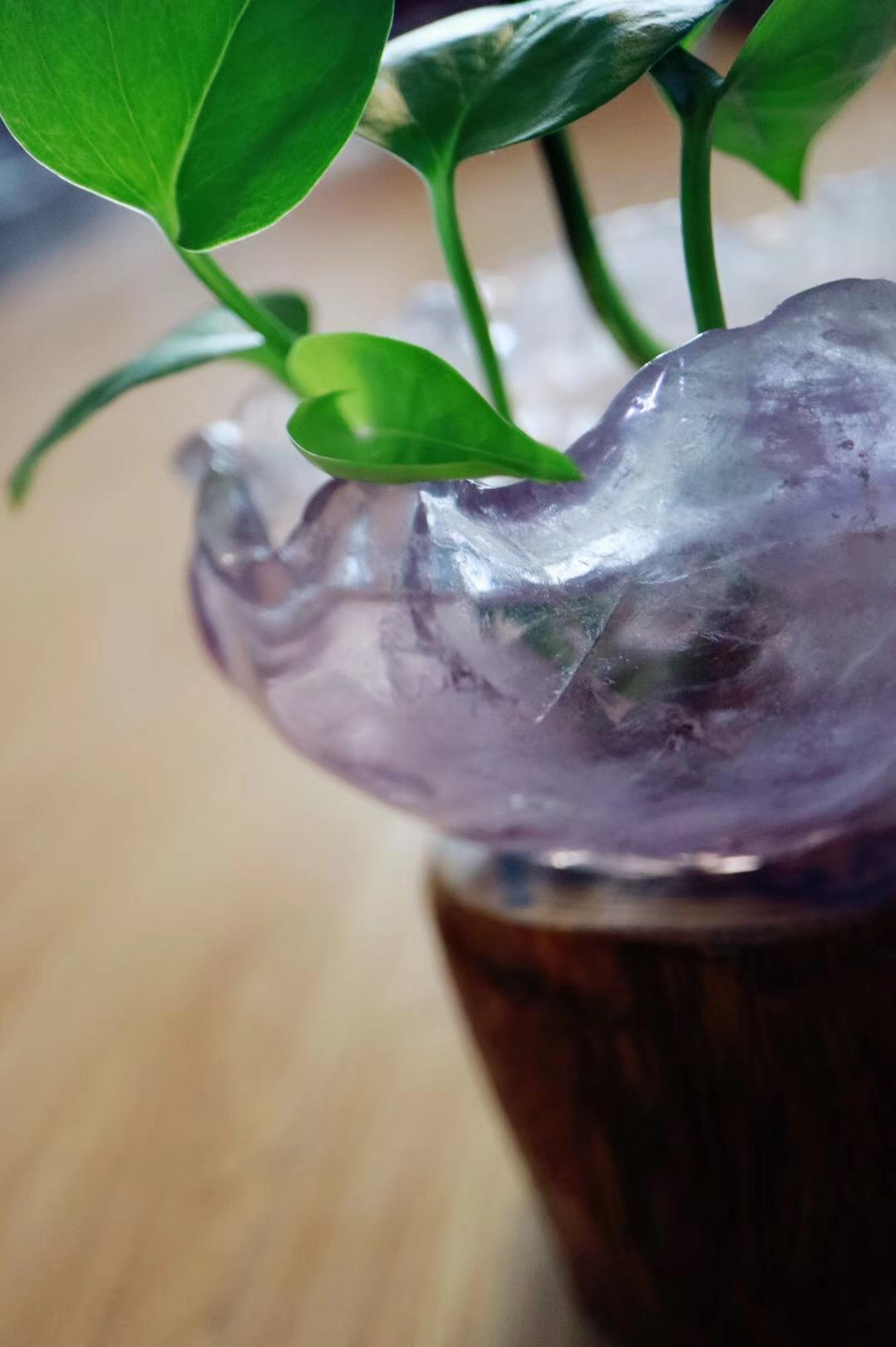 【紫水晶聚宝盆】紫晶乃聚气效果最好的晶石-菩心晶舍