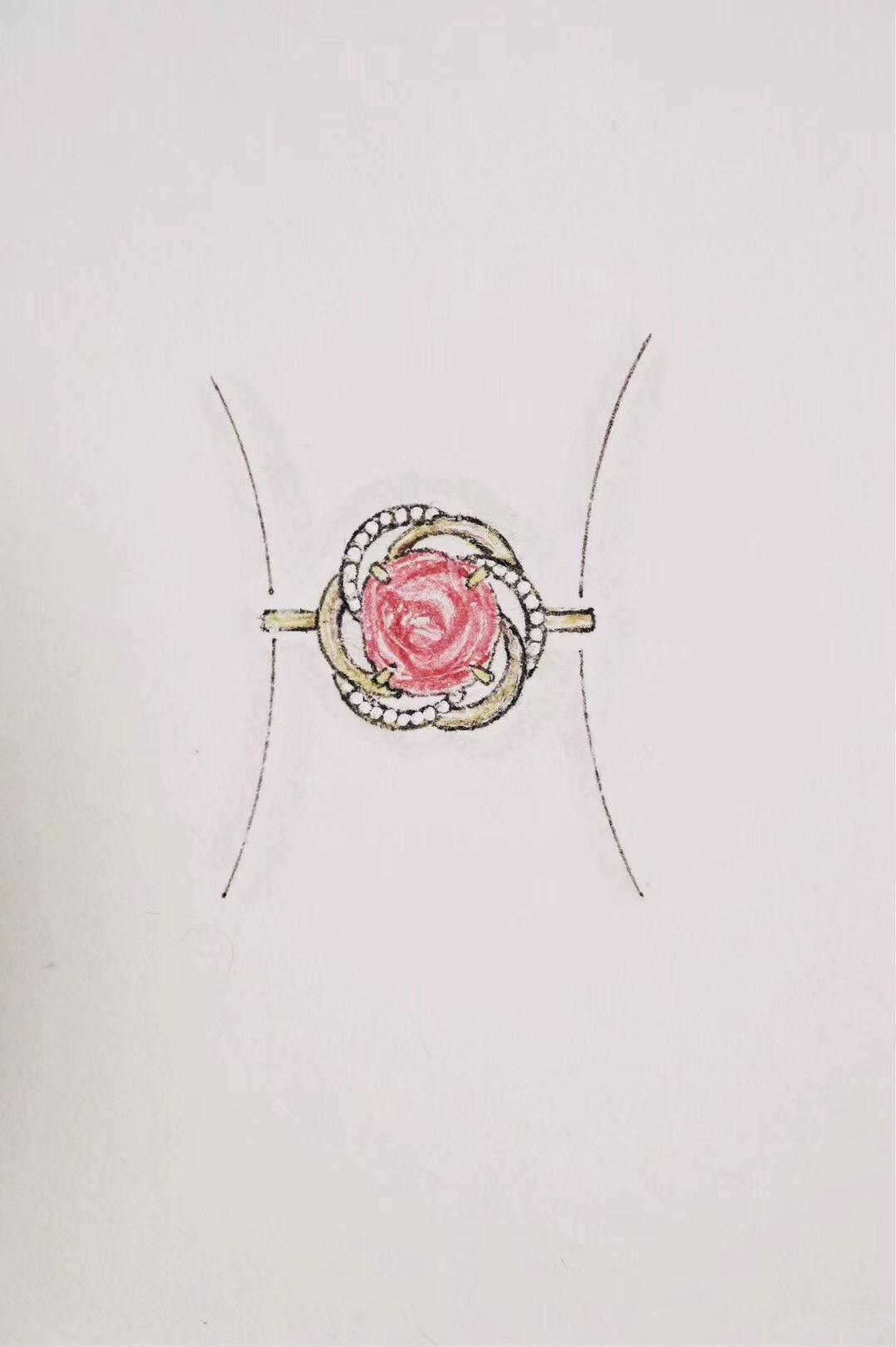 【菩心-碧玺&花开】那朵花开的正盛,犹如初春中的一缕清风-菩心晶舍