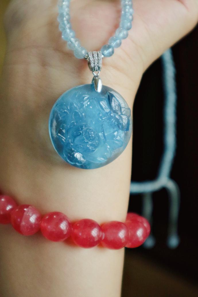 海蓝宝|紫水晶球七星阵-满足你的浪漫情怀-菩心晶舍