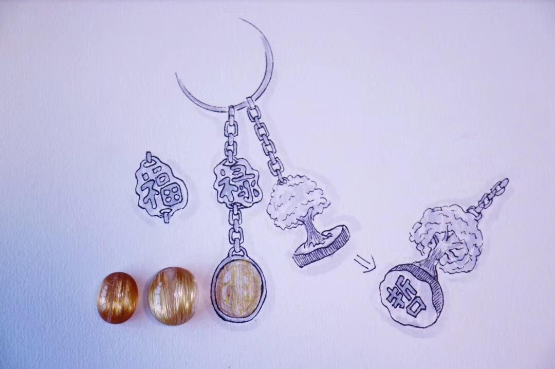 【菩心-钛晶】送姐姐姐夫的结婚纪念,菩心为之设计有生命之树印章-菩心晶舍