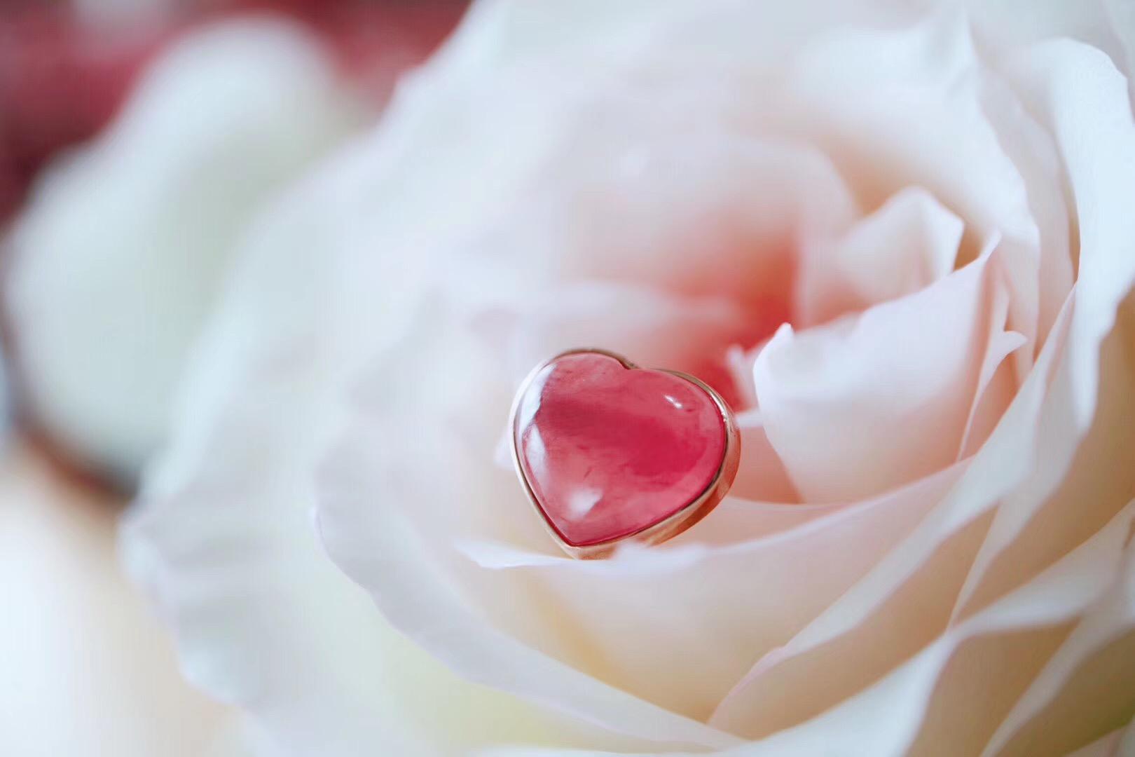 【菩心冰种红纹石】心灵从未被伤害,爱一直都在-菩心晶舍