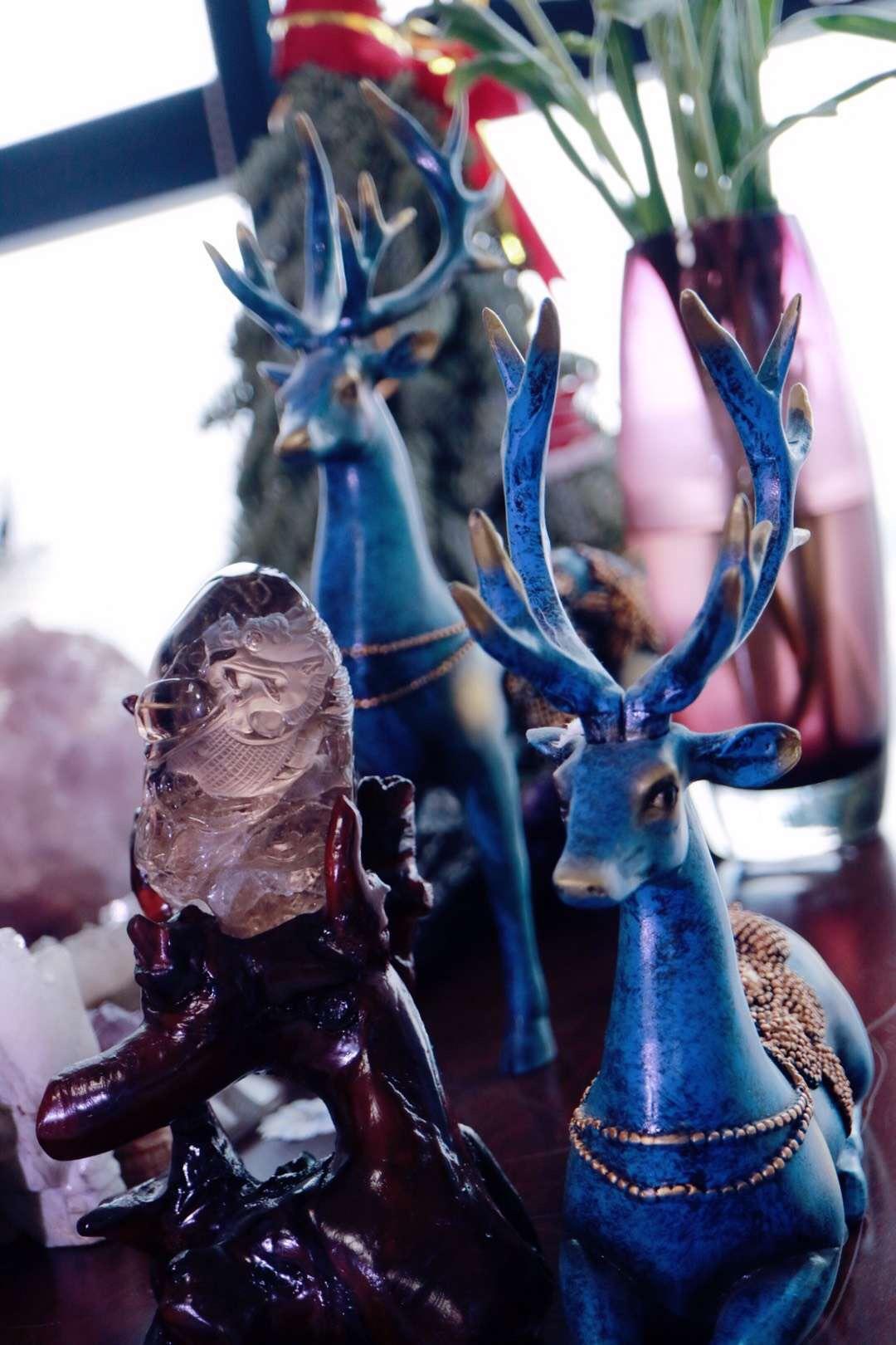 【菩心   发晶祥龙摆件】辟邪护主之瑞兽,可镇宅、可招财、可转运-菩心晶舍