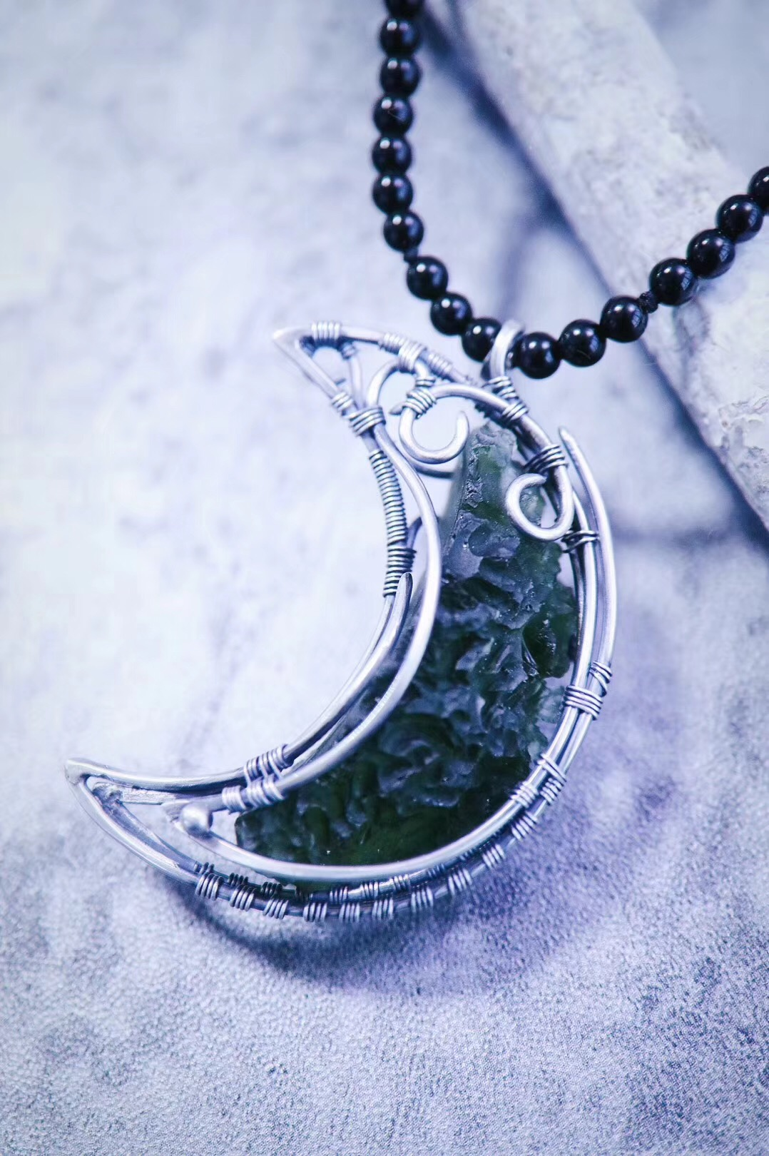 【菩心·捷克陨石】捷克陨石,心轮能量最强的一种天然陨石-菩心晶舍