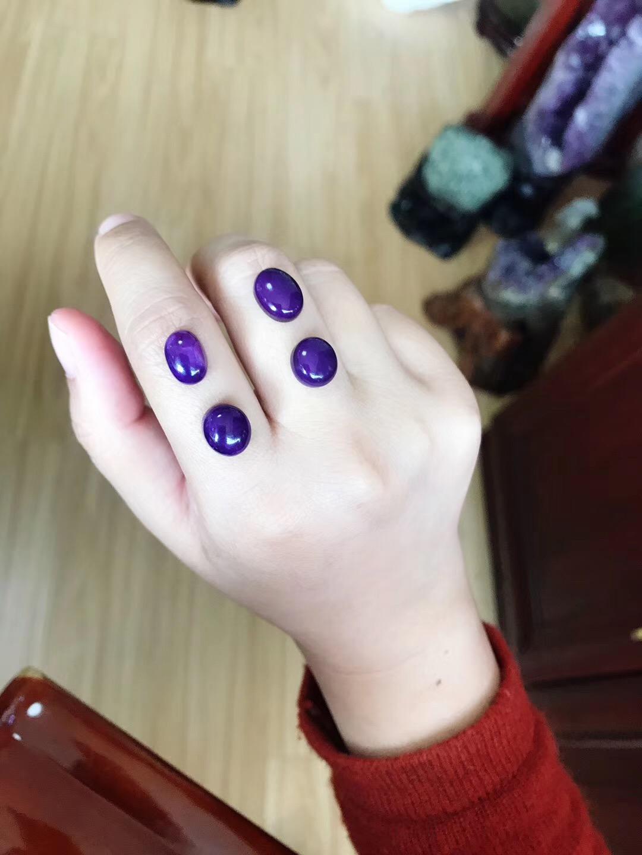 你们要的舒俱来皇家紫&裸石~~~江湖戒,人人可设计。-菩心晶舍