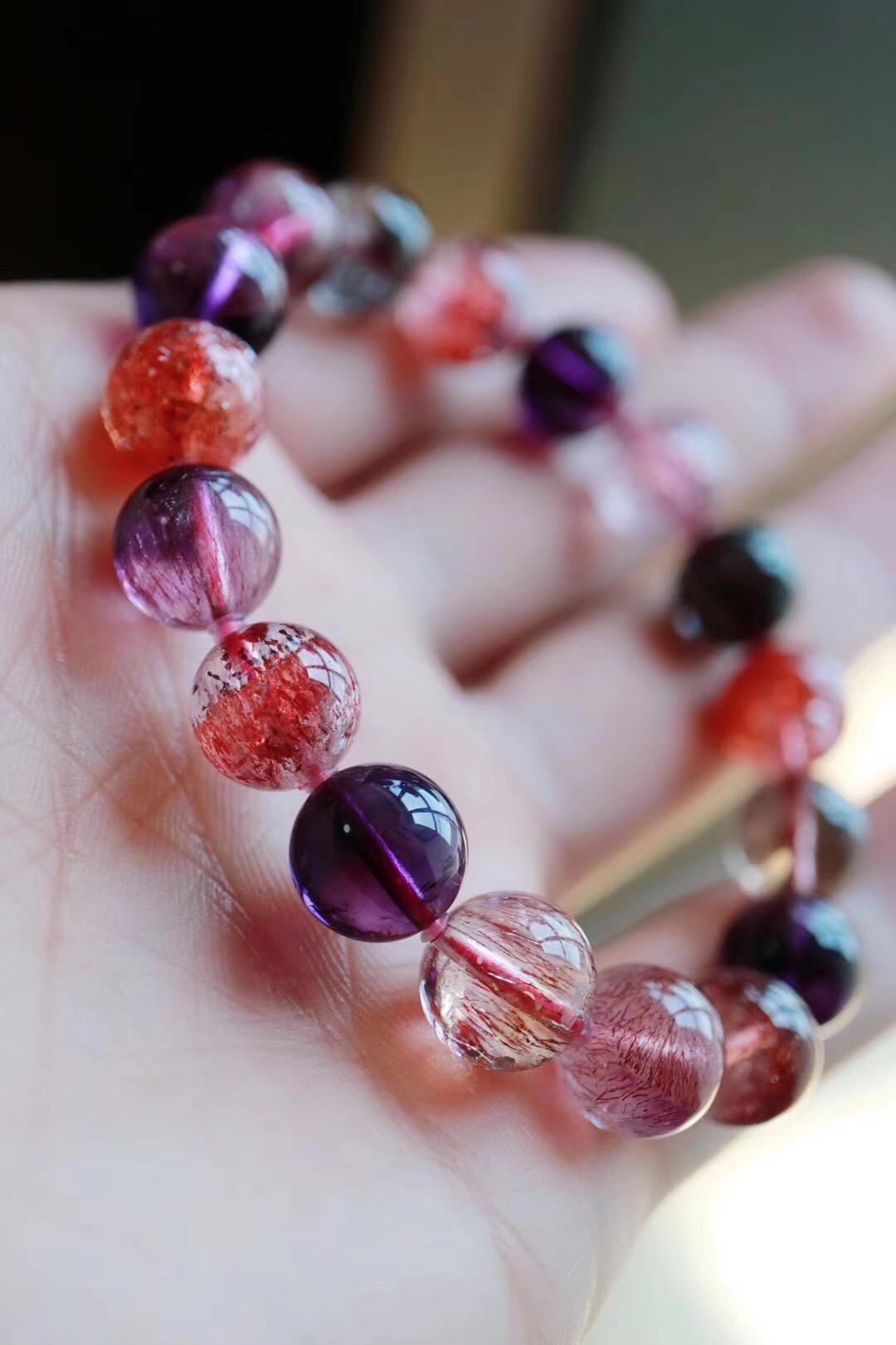 【菩心 | 超七紫发晶】三轮骨干紫发晶,平和内心,带来诸多灵感。-菩心晶舍