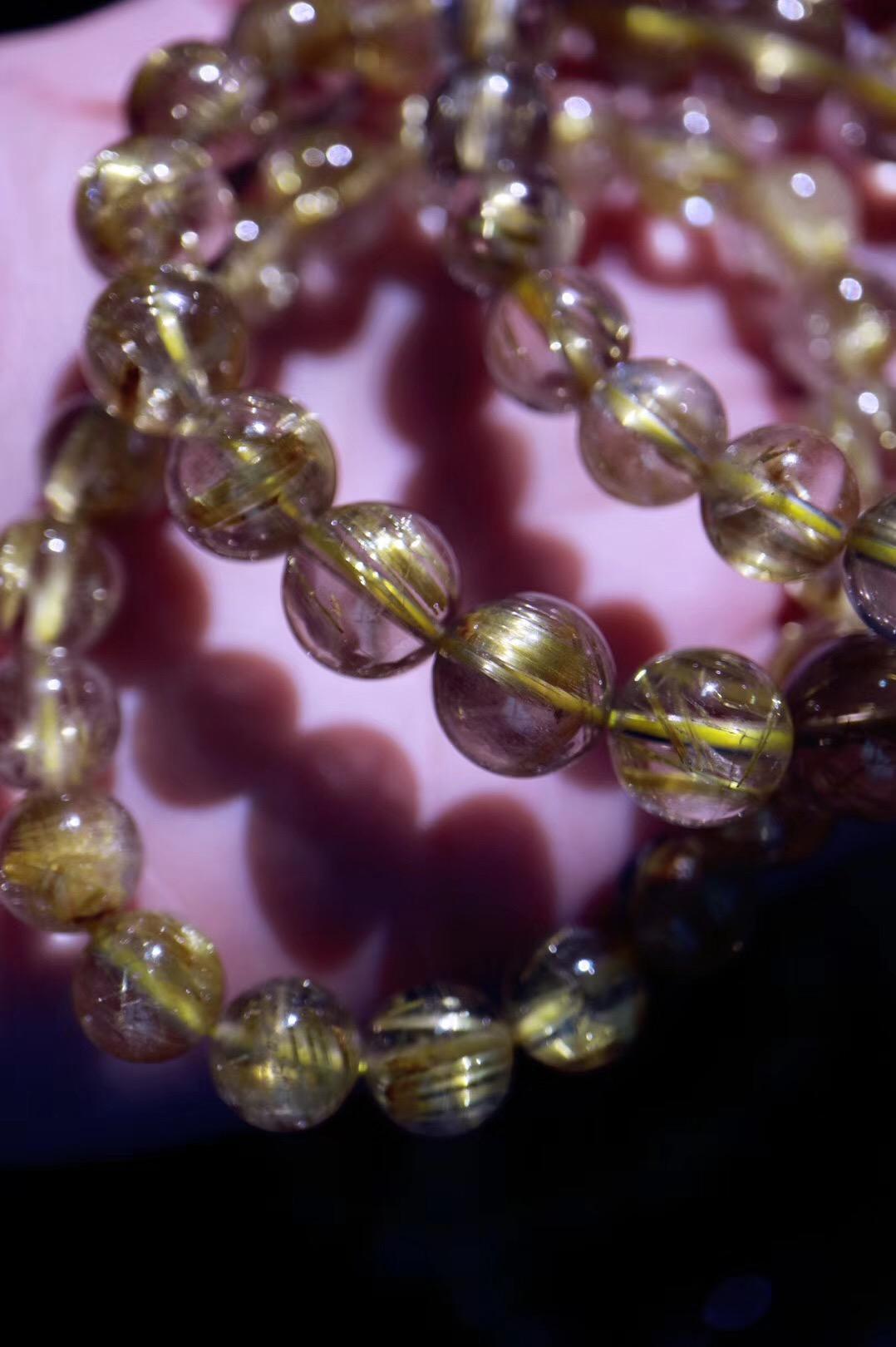 【菩心 | 钛晶】一条钛晶来助运,对应太阳轮,养胃且招财-菩心晶舍