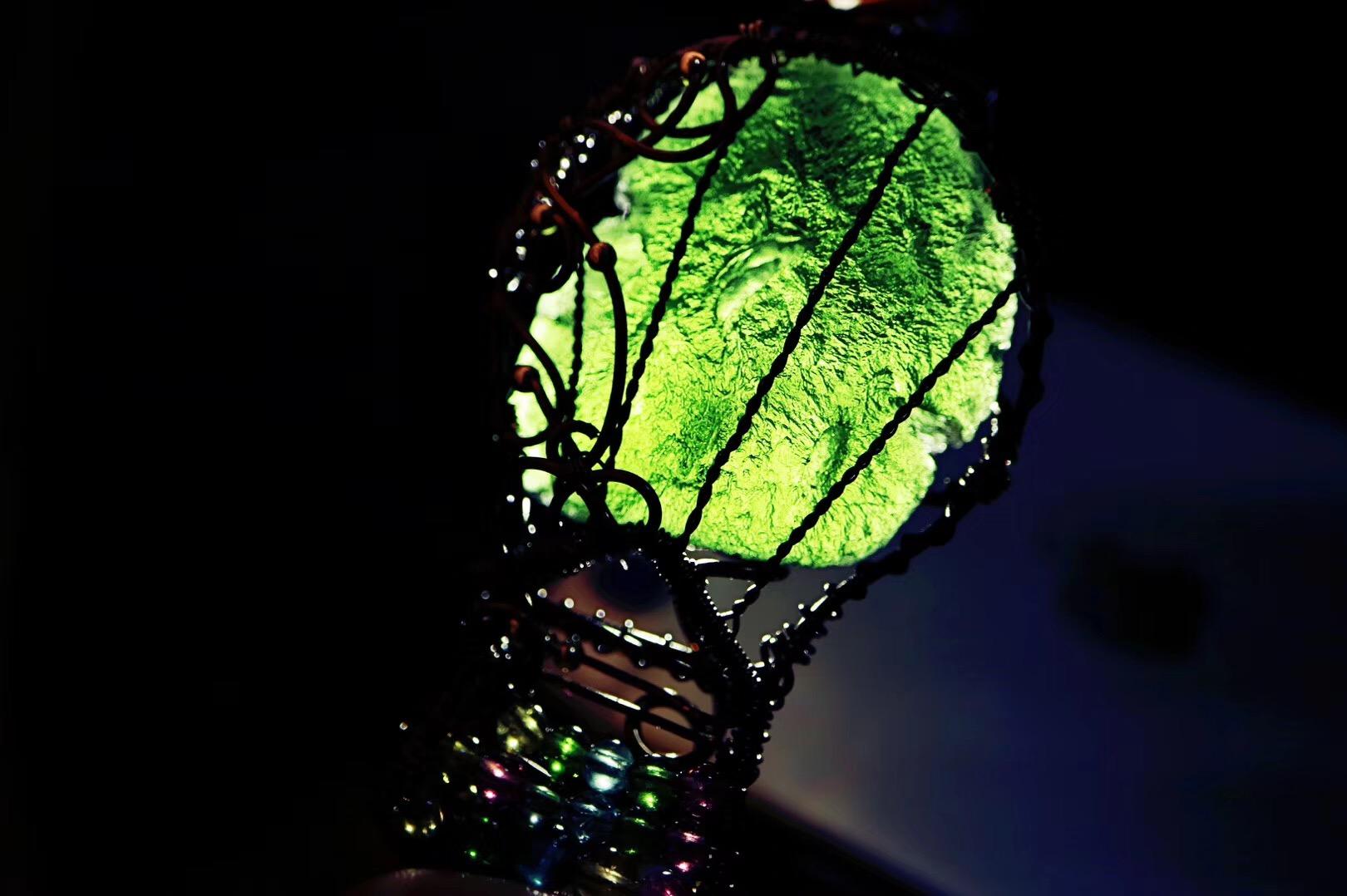 【捷克陨石】把最幸福的时刻,锁定在你的内心深处~~-菩心晶舍