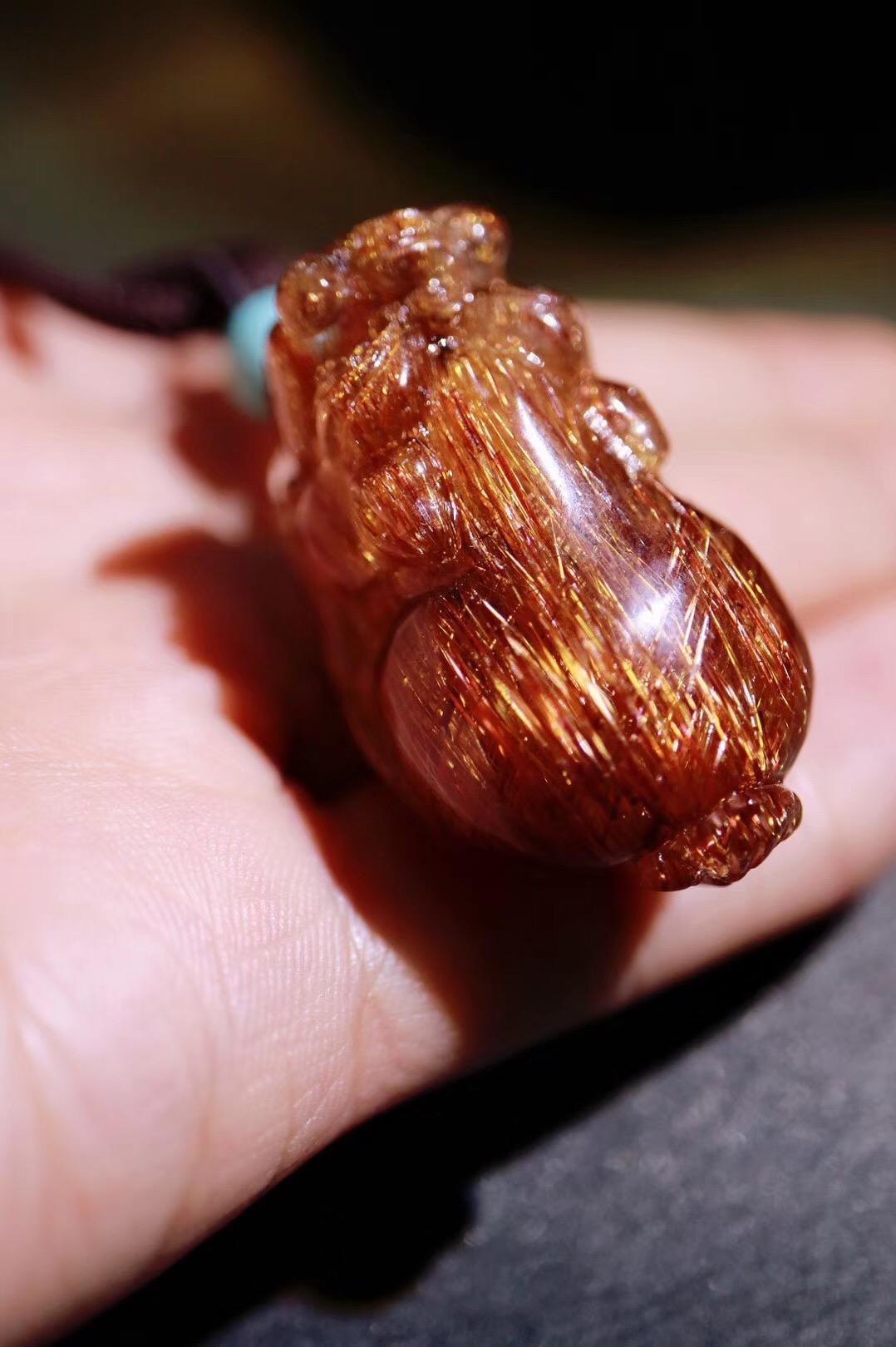 【铜发晶 | 貔貅】 貔貅是转祸为祥的吉瑞之兽-菩心晶舍