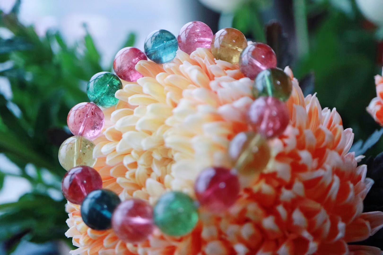 【菩心   碧玺】碧玺的气质,在彩色宝石中尤为惊艳-菩心晶舍