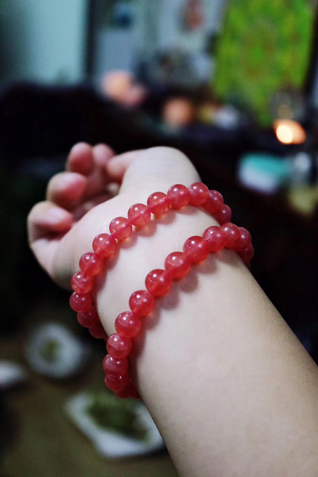 【菩心-红纹石】散发着浓浓的爱意。-菩心晶舍