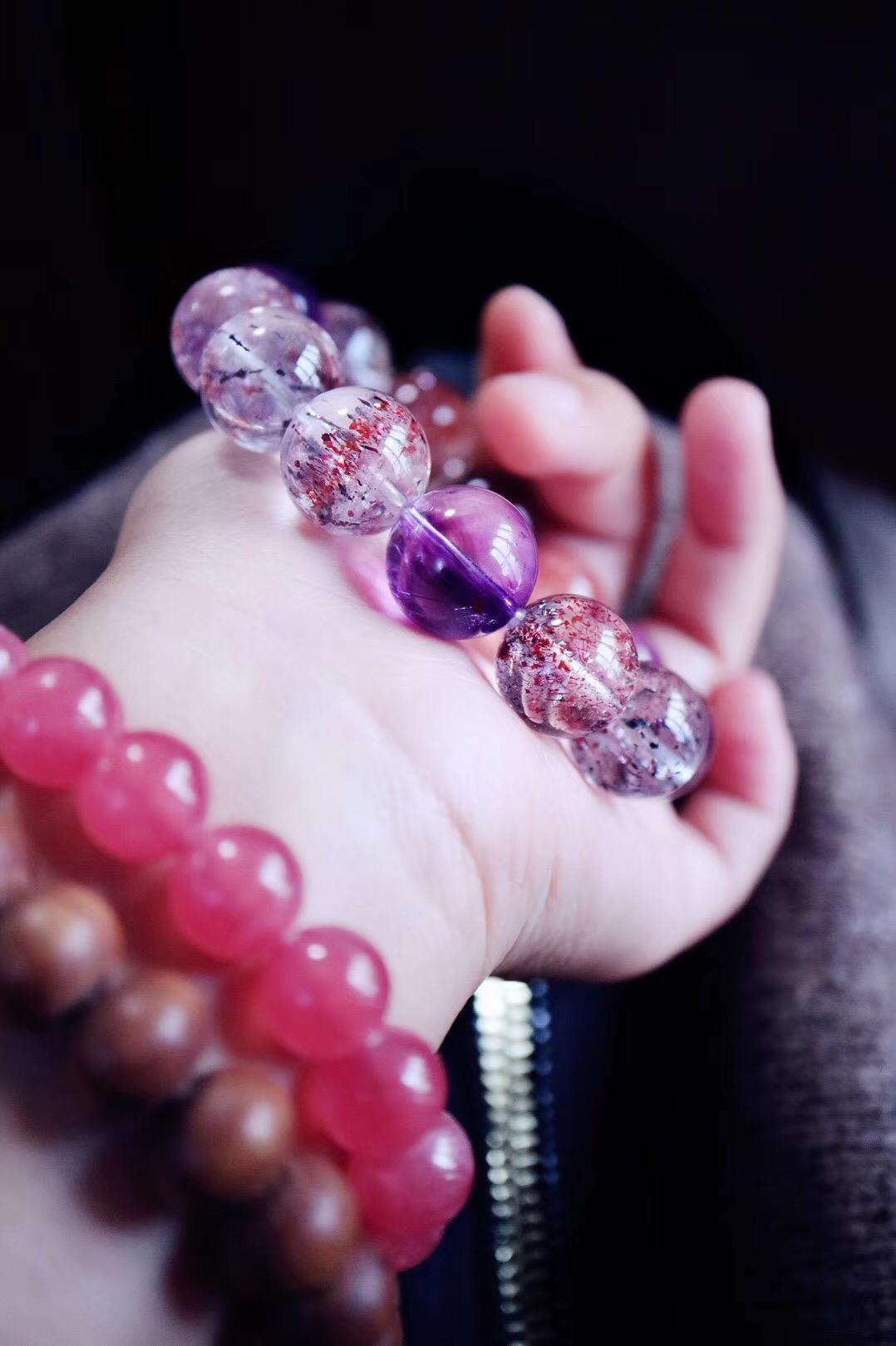 【菩心·紫发晶】你会爱上这条,每一颗,都充满魅力。-菩心晶舍