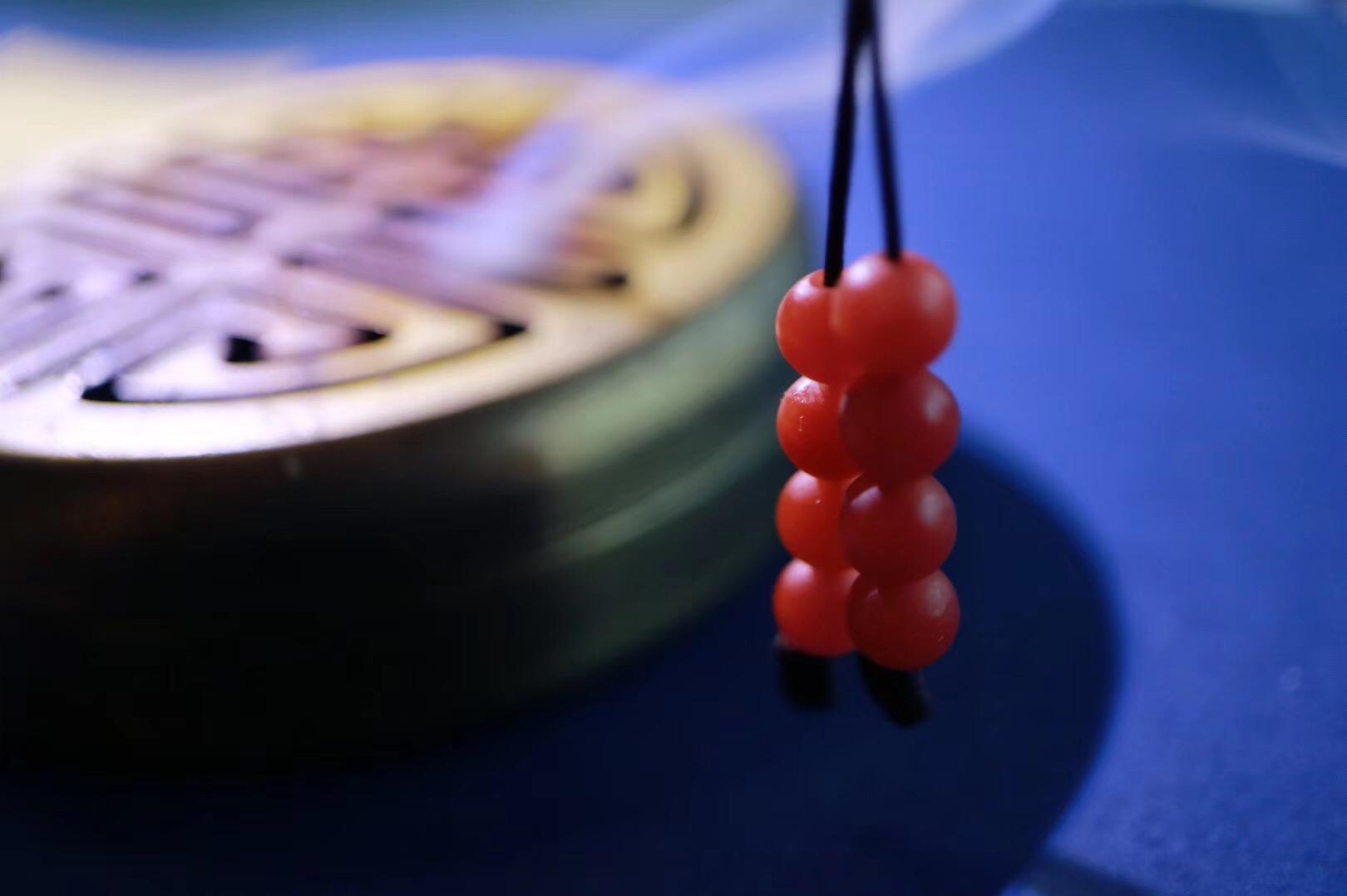 【保山南红 | 佛珠】南红一百零八子,红尘之中温暖相伴-菩心晶舍