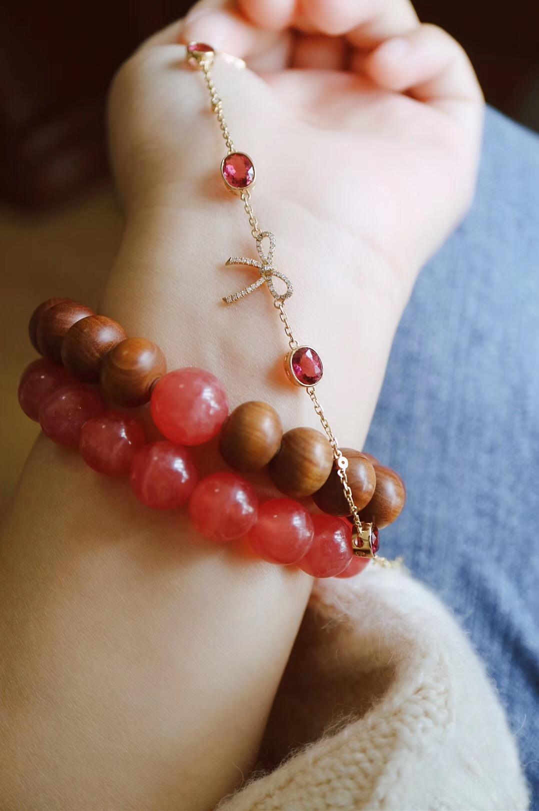 【菩心-红碧玺】拥有一颗少女心,生活处处皆是惊喜和礼物-菩心晶舍