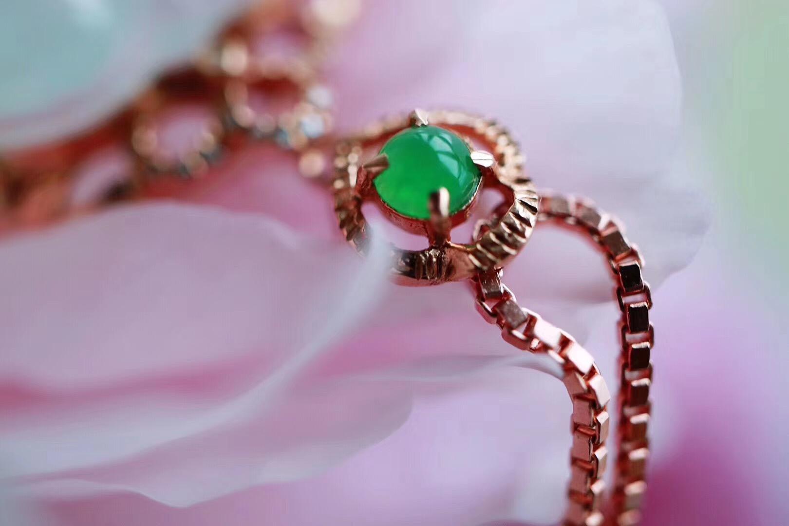 【菩心 | 翡翠🍃】绿叶常与花相伴,花谢叶长在-菩心晶舍