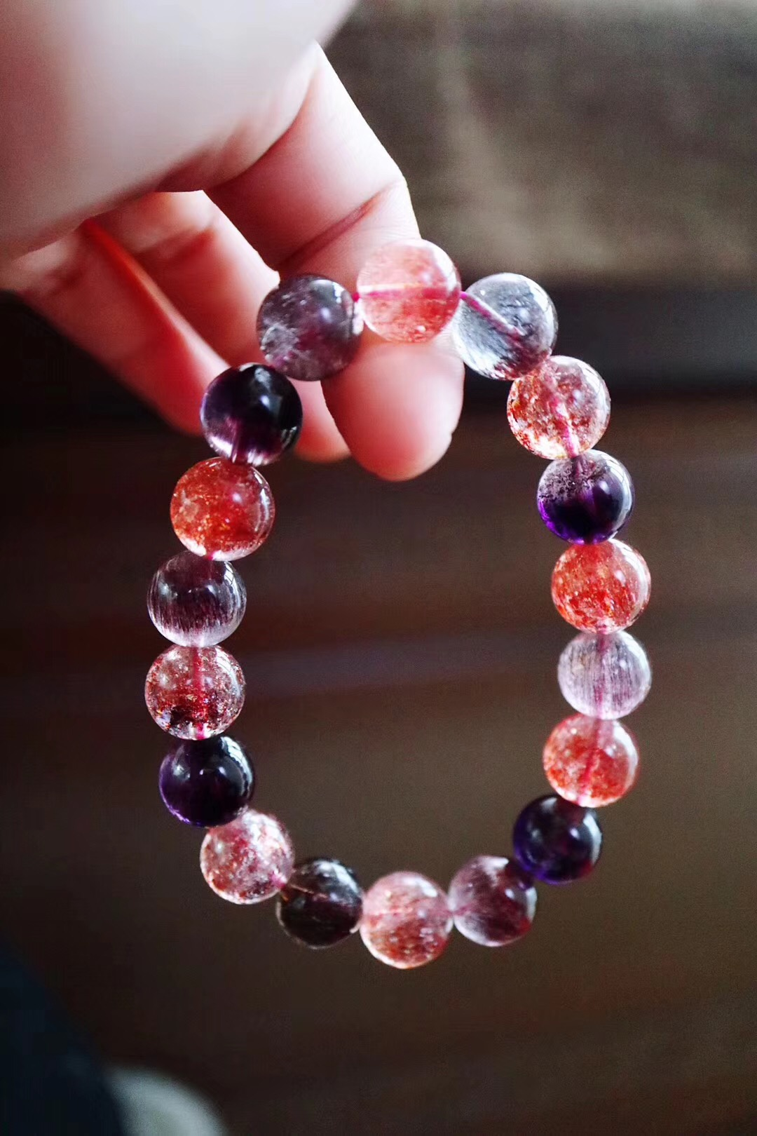 【菩心-超七&紫发晶】超七有着很高的磁场,可以带来很多灵感-菩心晶舍