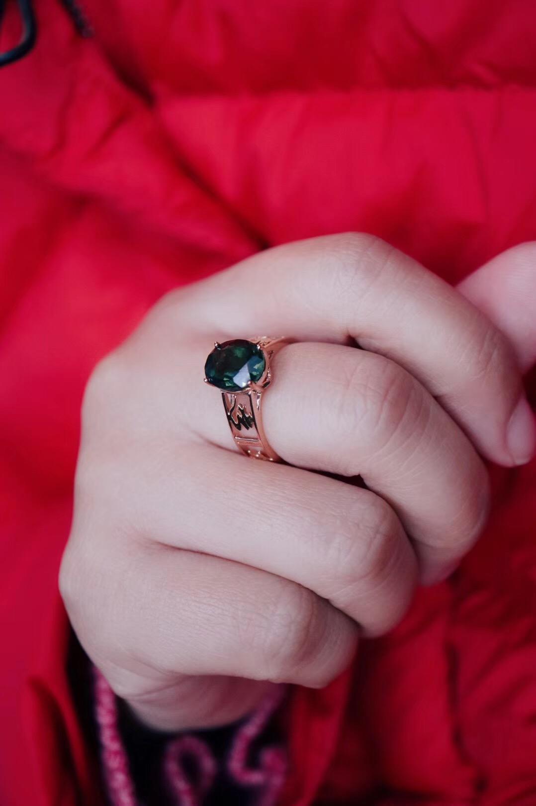 【菩心-碧玺、捷克陨石&戒指】菩心近段的热门定制-菩心晶舍