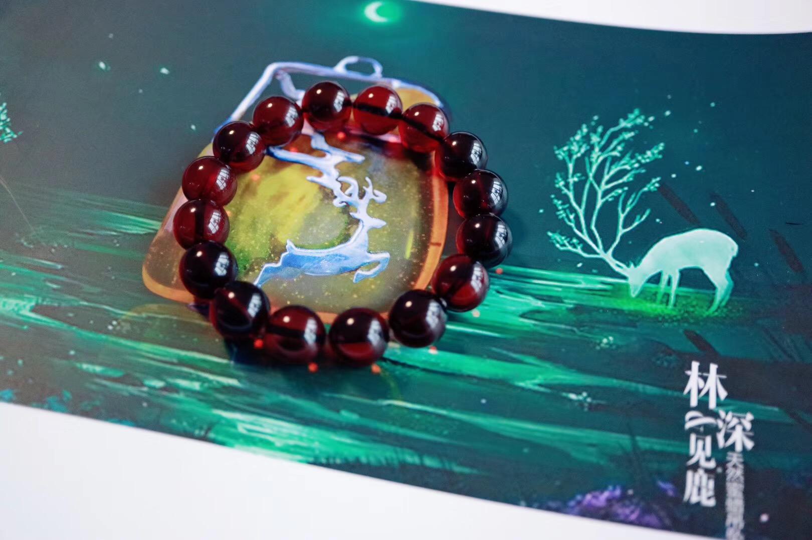 【菩心极品血珀】世界上有很多种红,而这一抹尤为高贵-菩心晶舍