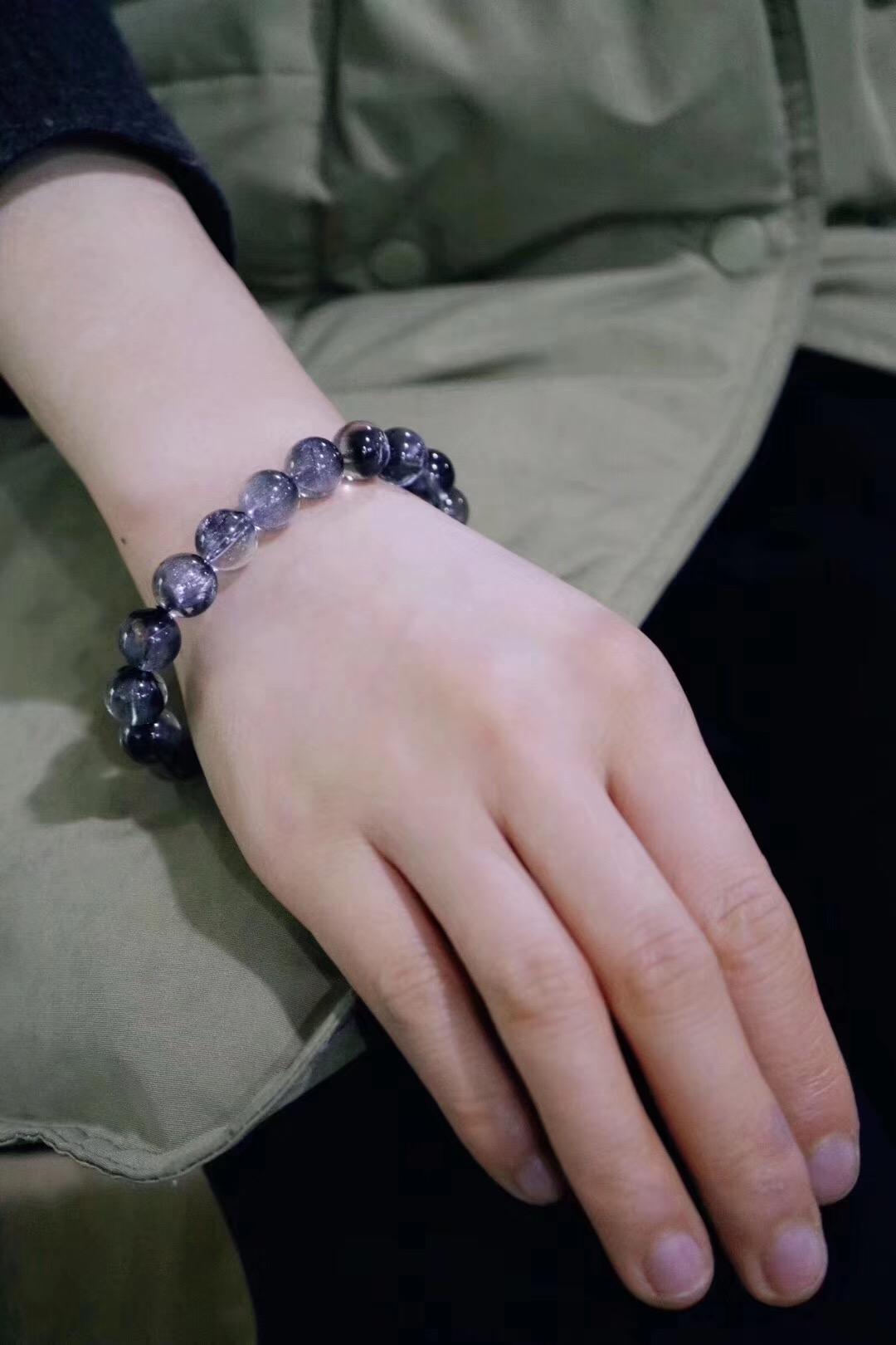 【菩心-黑银钛晶】黑银钛产量稀少,品相好的更是极少-菩心晶舍
