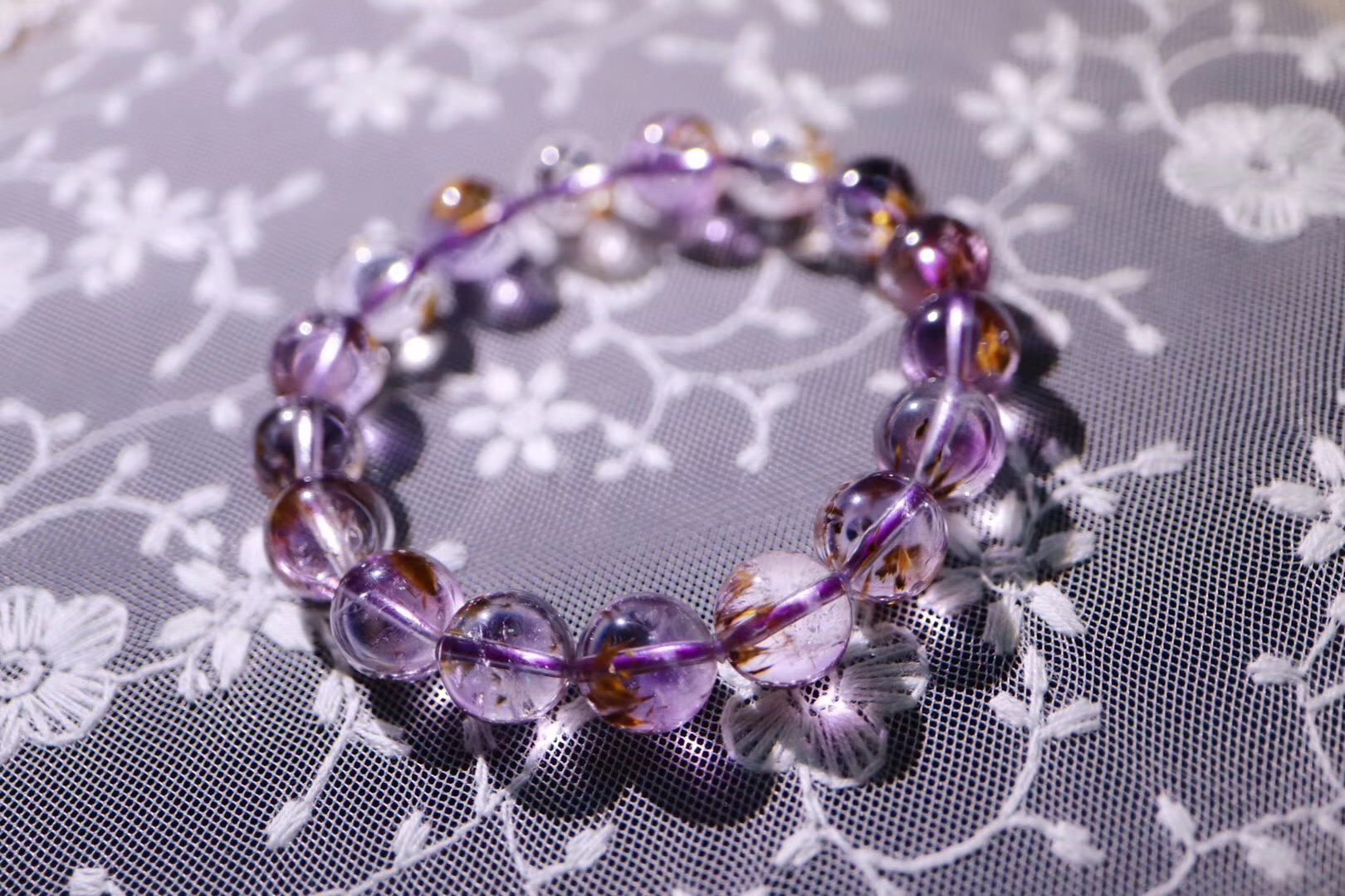 【菩心   火焰水晶】紫钛晶,被人们当成改运招财的强力风水石~~-菩心晶舍