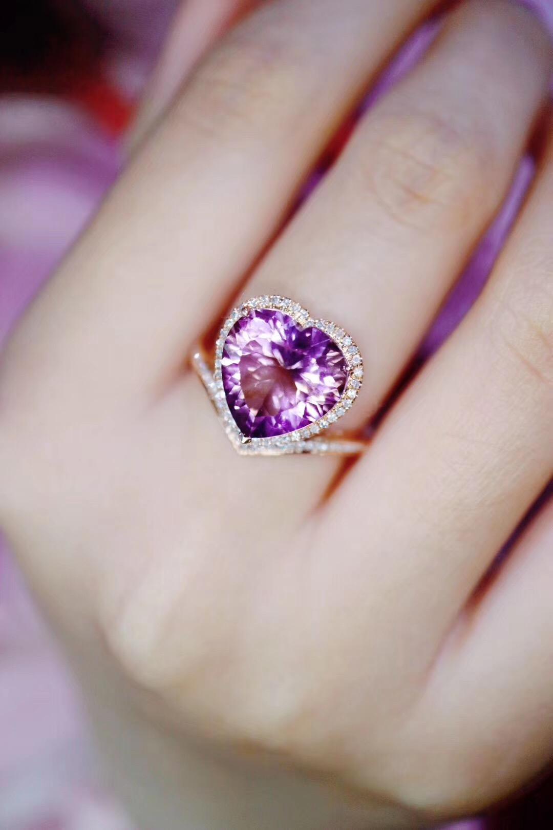 【菩心-紫黄晶】紫色系,今年的流行色-菩心晶舍