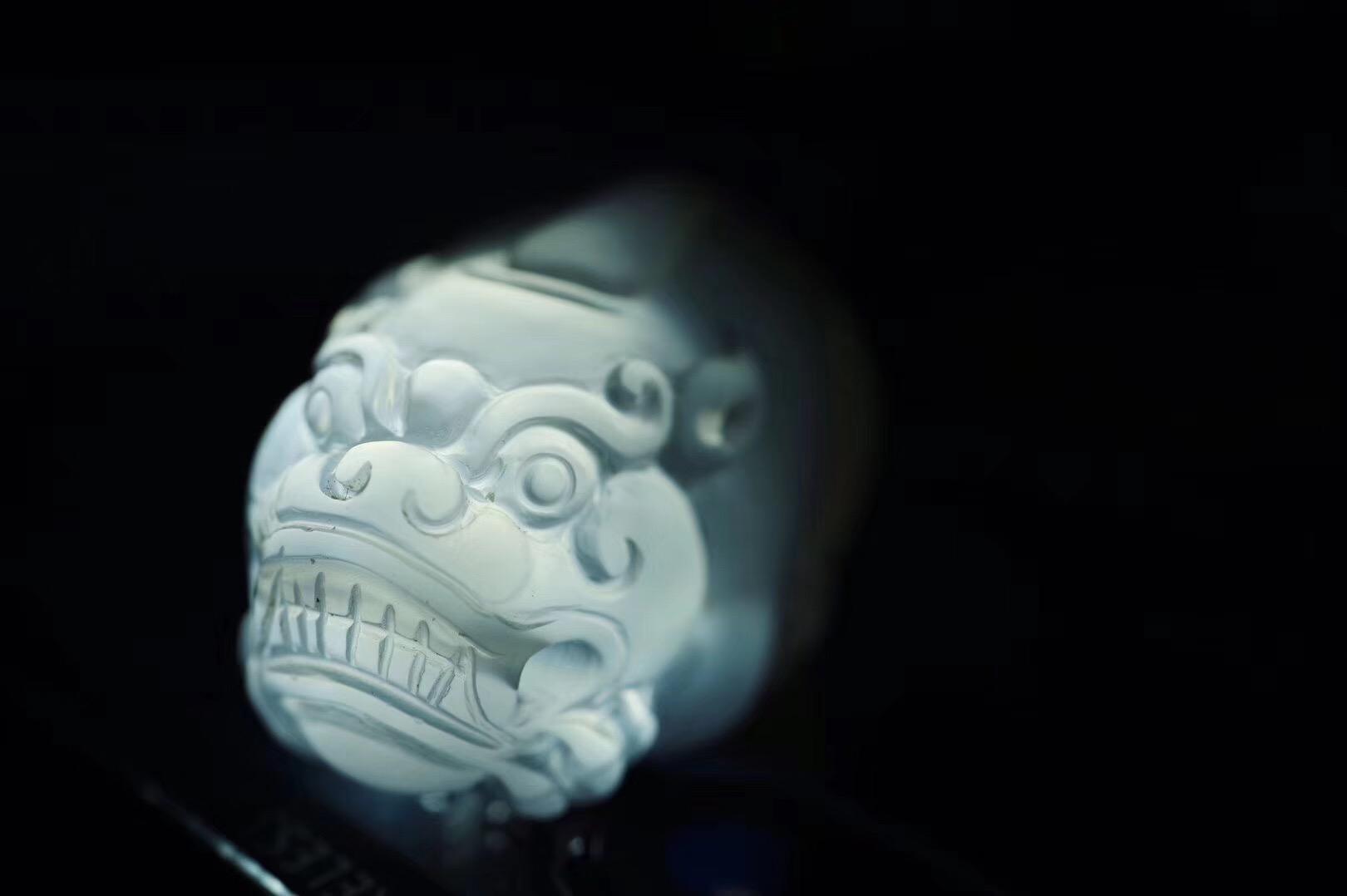 【菩心-貔貅】冰透到可媲美翡翠的荔枝冻貔貅-菩心晶舍