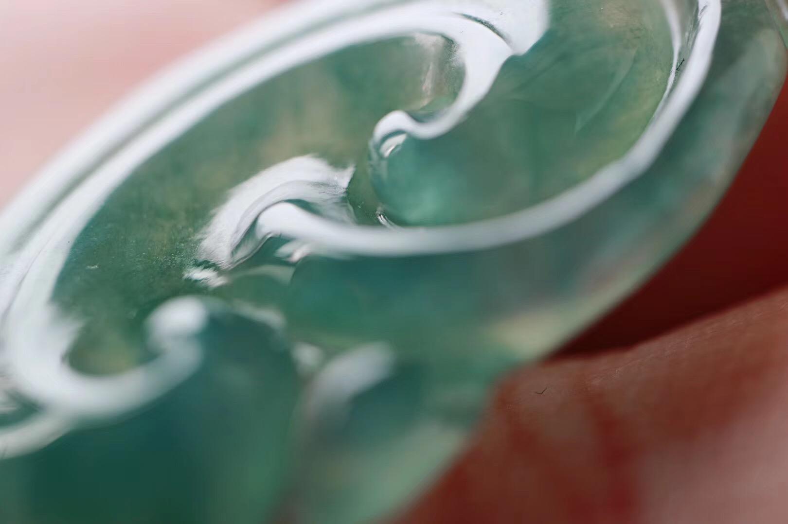 【冰种翡翠 | 如意】 人生的风景,其实都是心灵的风景~-菩心晶舍