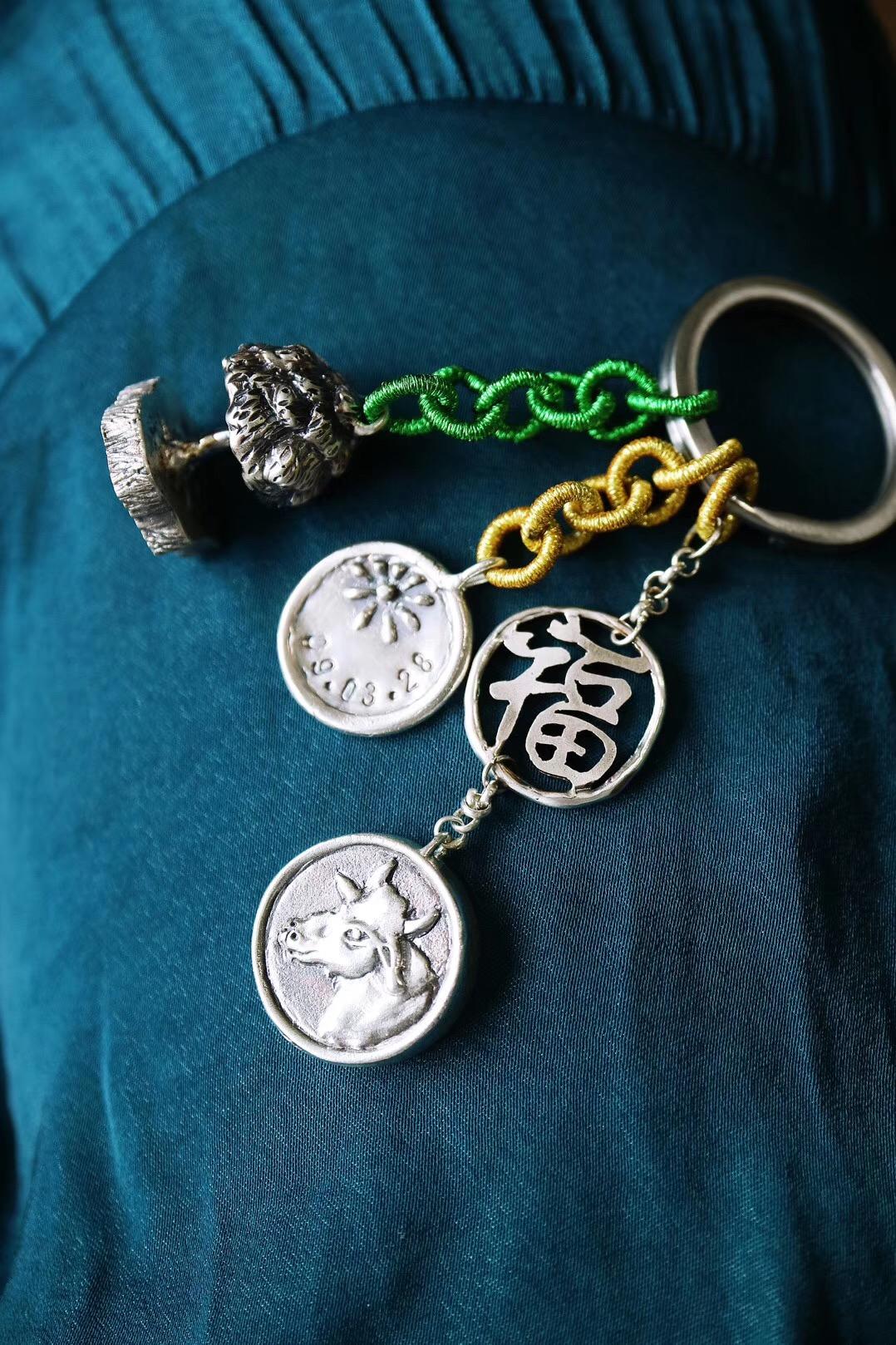【菩心-钥匙链定制】妈咪们的新宠,生命之树印章-菩心晶舍