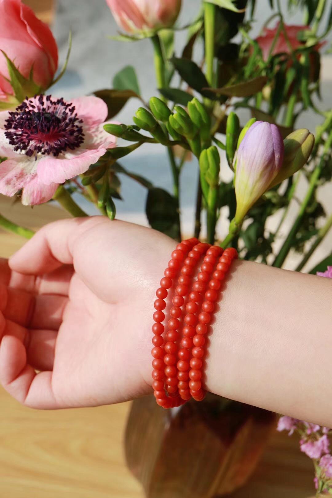 【菩心   保山南红玛瑙】南红颜色红润有光泽,油润性也是十分好-菩心晶舍