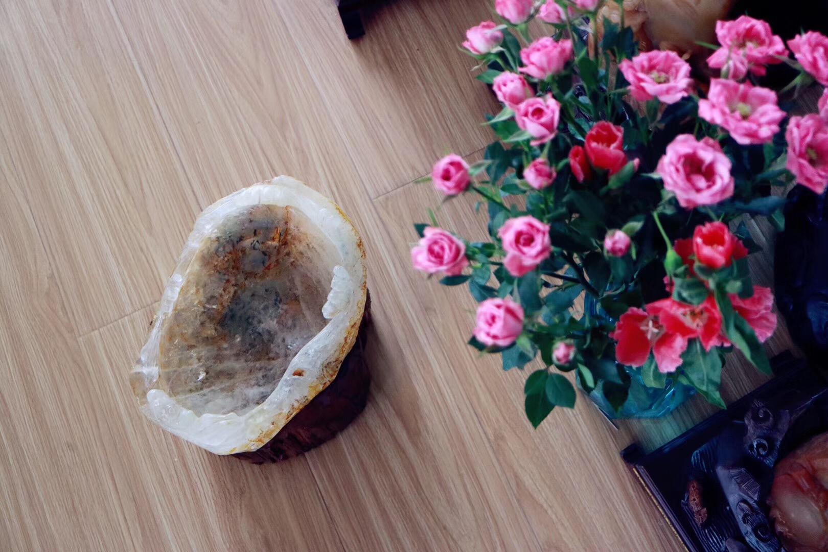 【菩心 | 白水晶聚宝盆】白水晶聚宝盆乃风水吉祥物-菩心晶舍