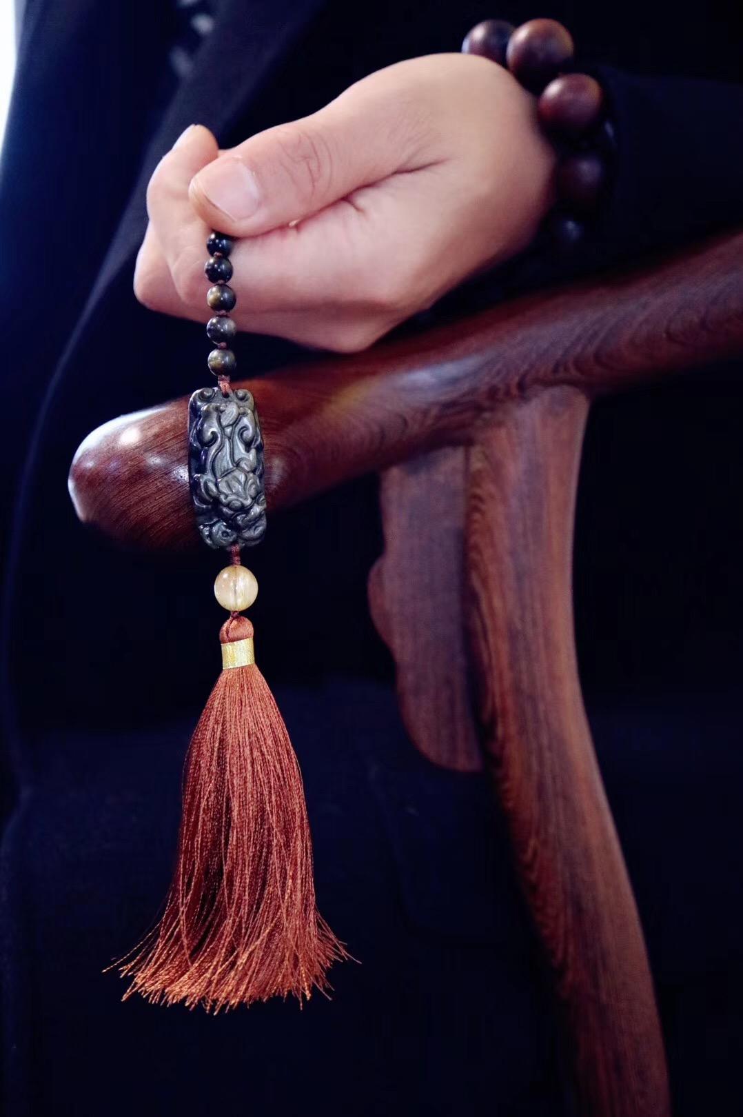 【菩心·🐲龙王显灵&钛晶】高等级品相和雕刻,也把这些寓意显化了-菩心晶舍