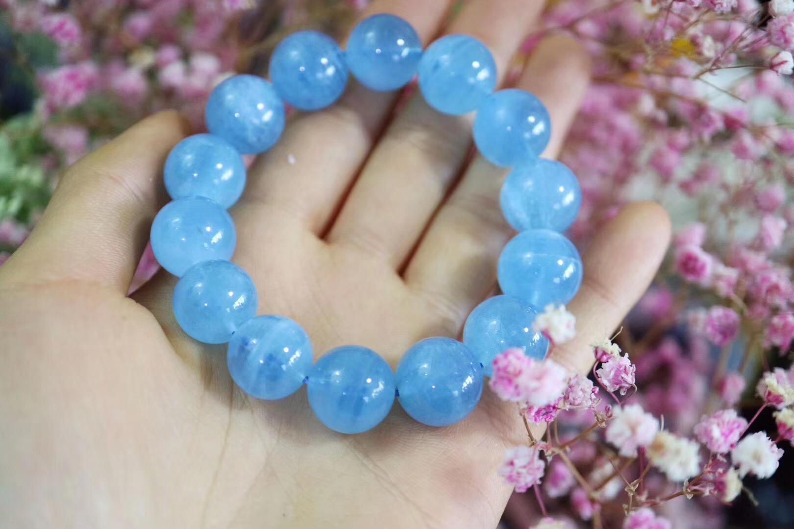 【菩心-海蓝宝】清新脱尘的海蓝宝,犹如众生精灵的能量石-菩心晶舍