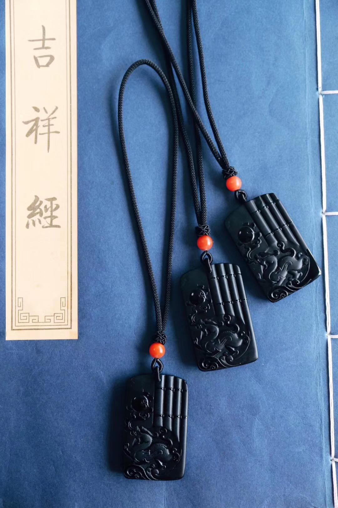 【菩心-黑曜石】麒麟是中国古代传说中近乎完美无缺的神兽-菩心晶舍