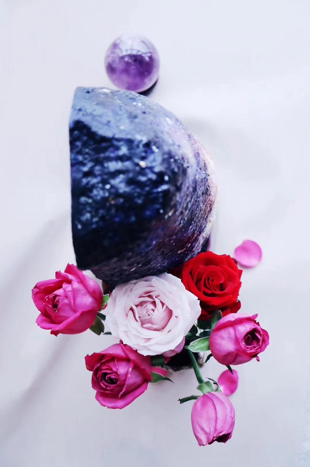 【菩心-宇宙星河&紫晶洞】所有从你手中流逝的,终有一天会以另外一种形式回到你手里-菩心晶舍