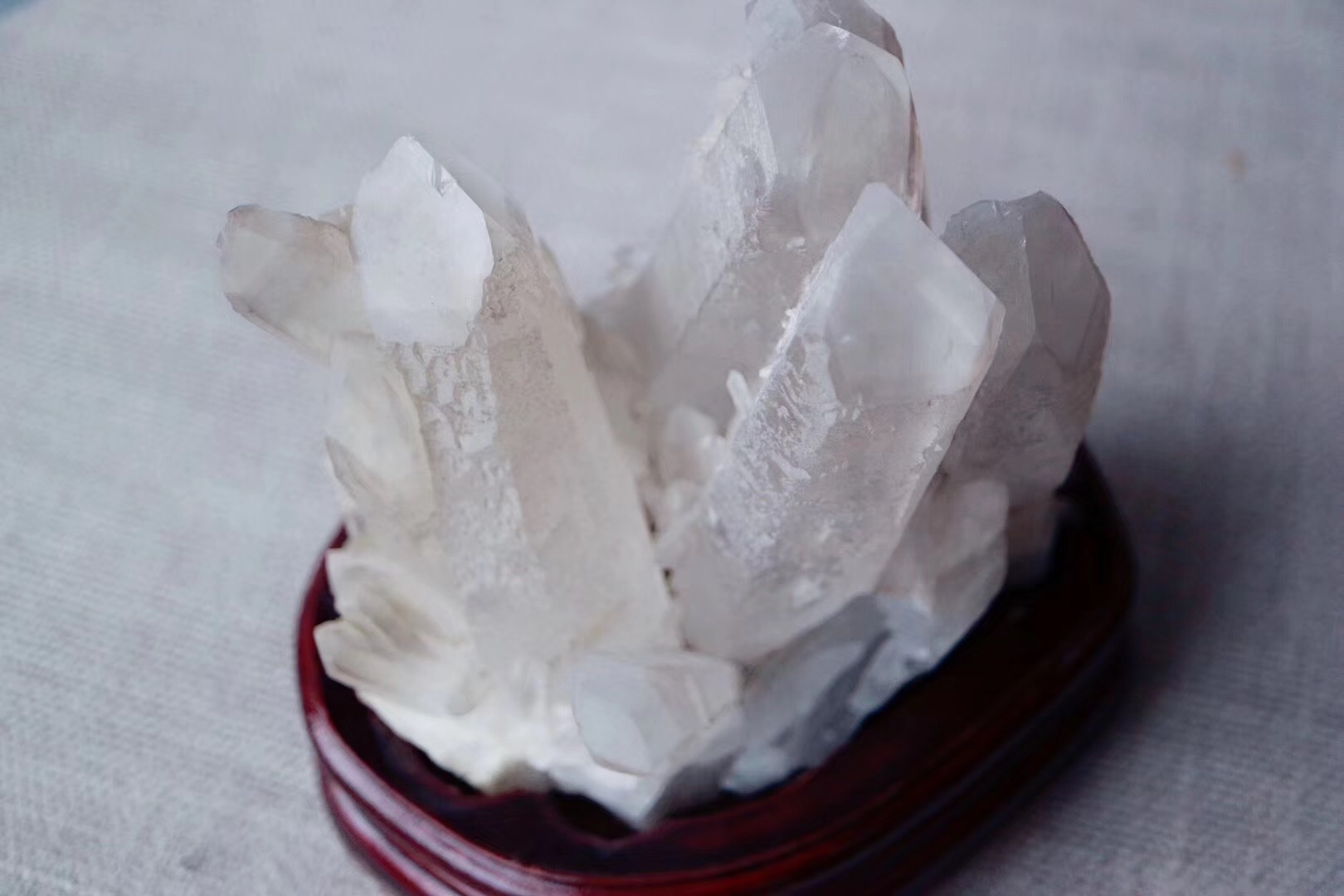【菩心 | 白水晶簇】天然原矿白水晶簇,水晶之王-菩心晶舍