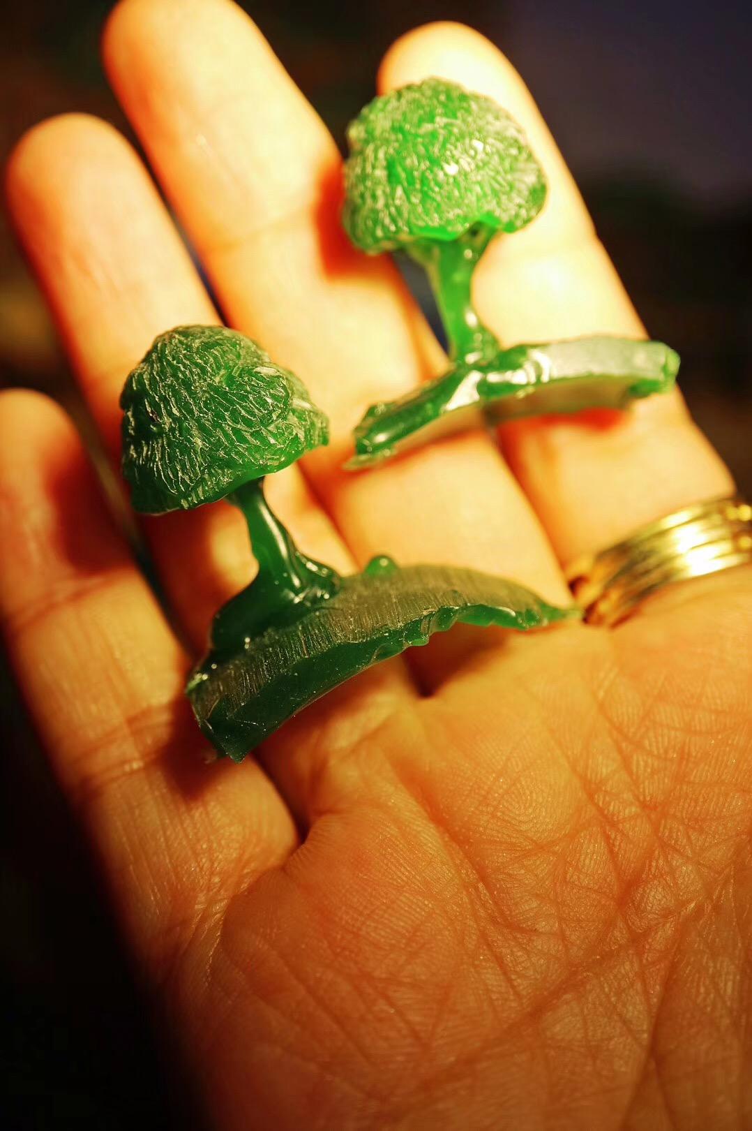【菩心|钛晶定制】满满爱意的定制,爸爸妈妈每人一串生命之树-菩心晶舍