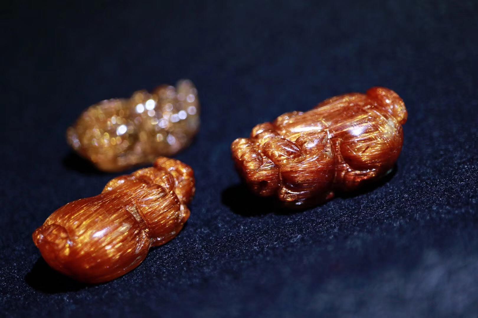 【菩心铜发晶貔貅】三只招财瑞兽,年底助运神器-菩心晶舍