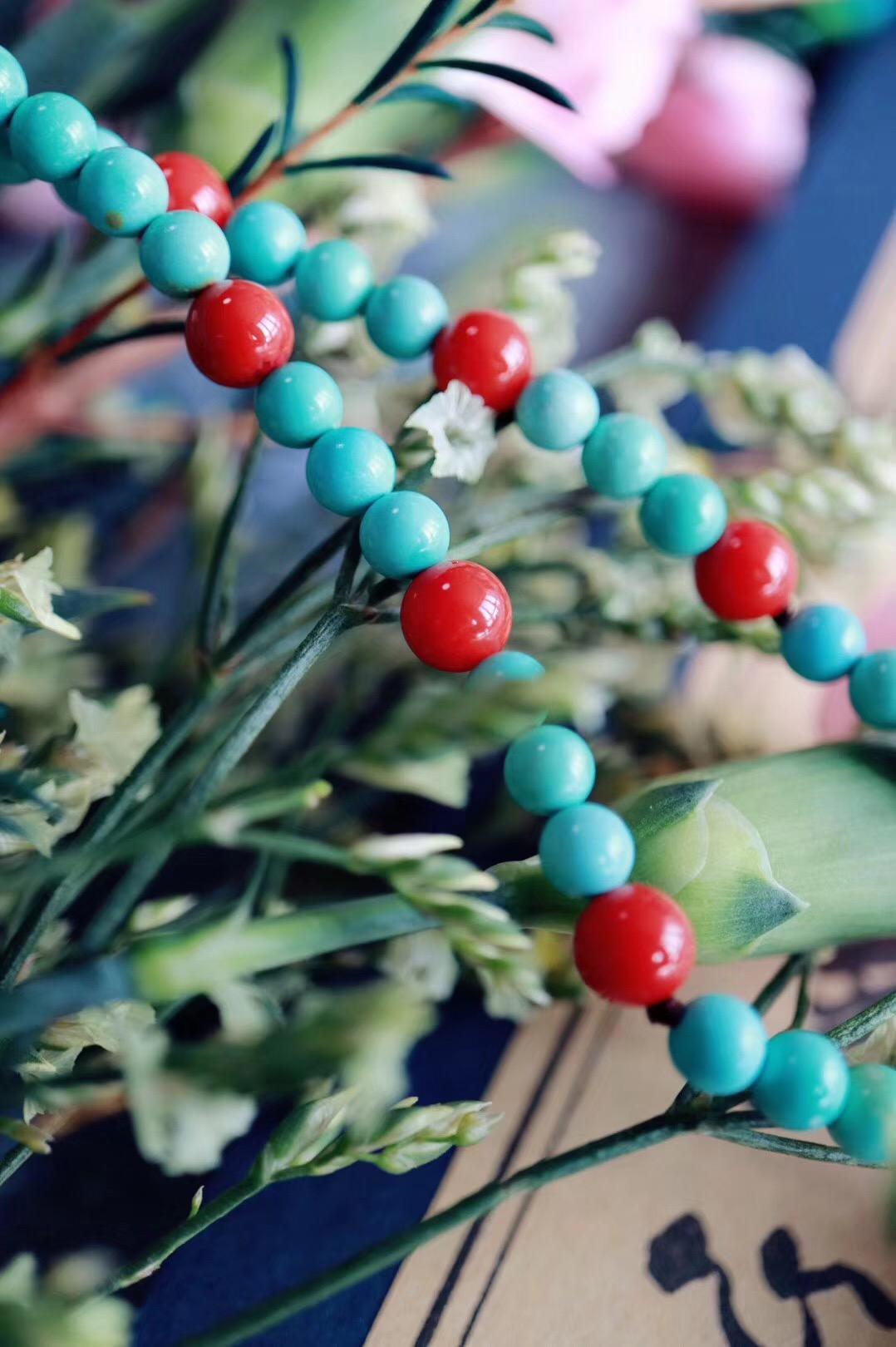 【南红玛瑙 | 绿松石 | 蜜蜡】 时间会沉淀真正的富有,烟火会检验纯粹的丰腴-菩心晶舍