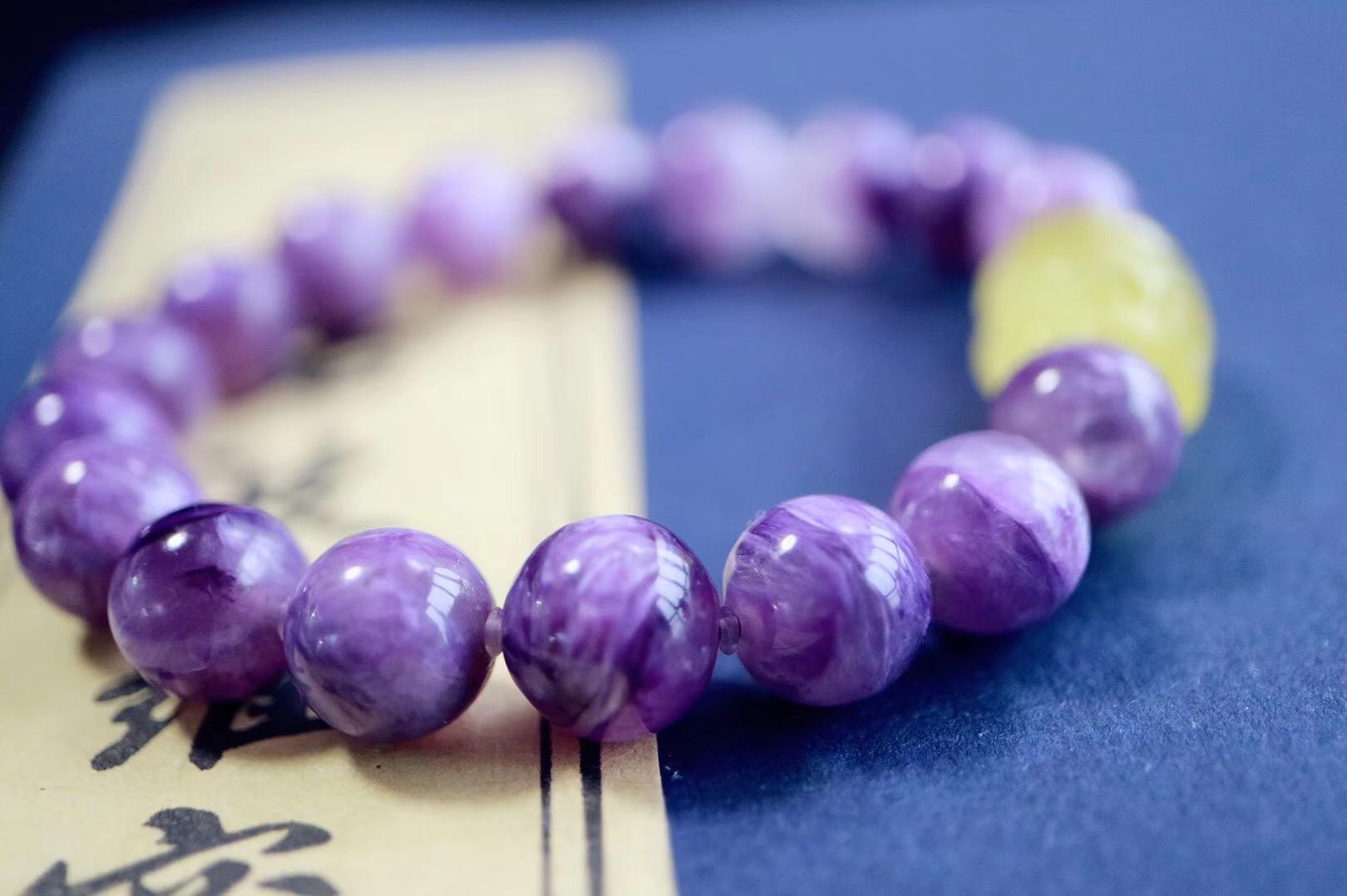 【菩心 | 紫龙晶 | 福气小猪】 紫龙晶可唤醒人体内高灵性的智慧-菩心晶舍