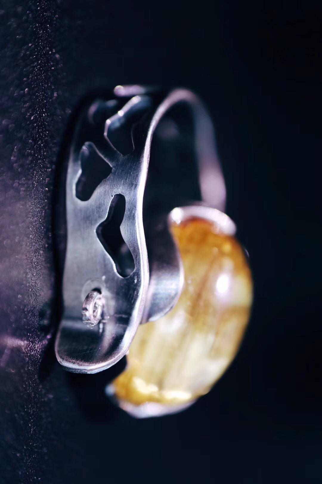 【菩心-钛晶】钛晶转运戒,转一转,他还可以是枚吊坠呢。-菩心晶舍